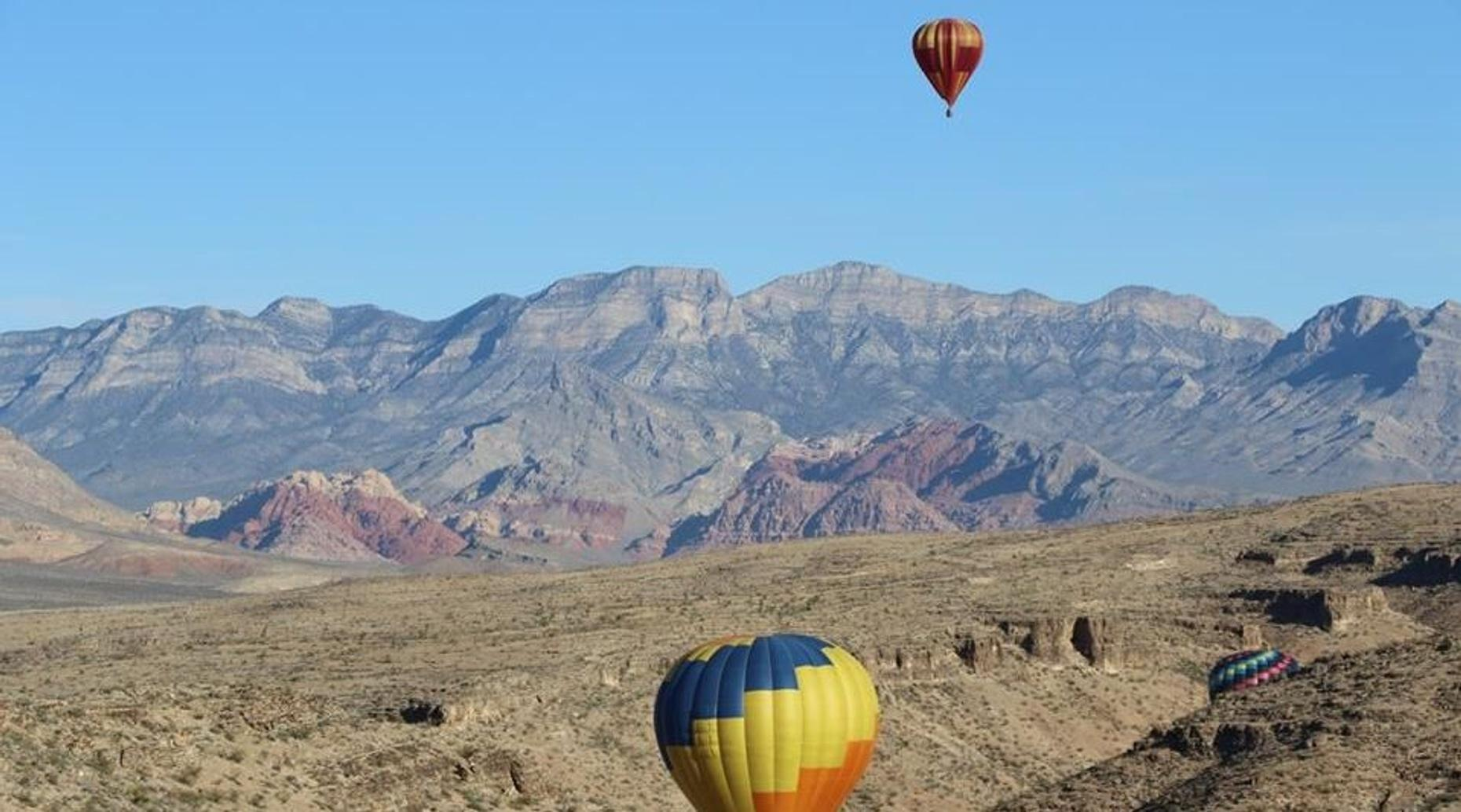 Las Vegas Hot Air Balloon Morning Ride