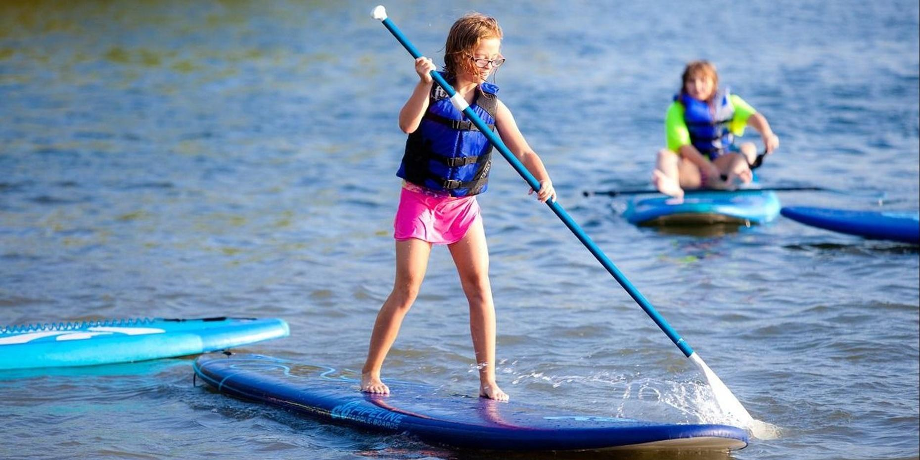 Broads on Boards Paddle Fitness in Jamesport