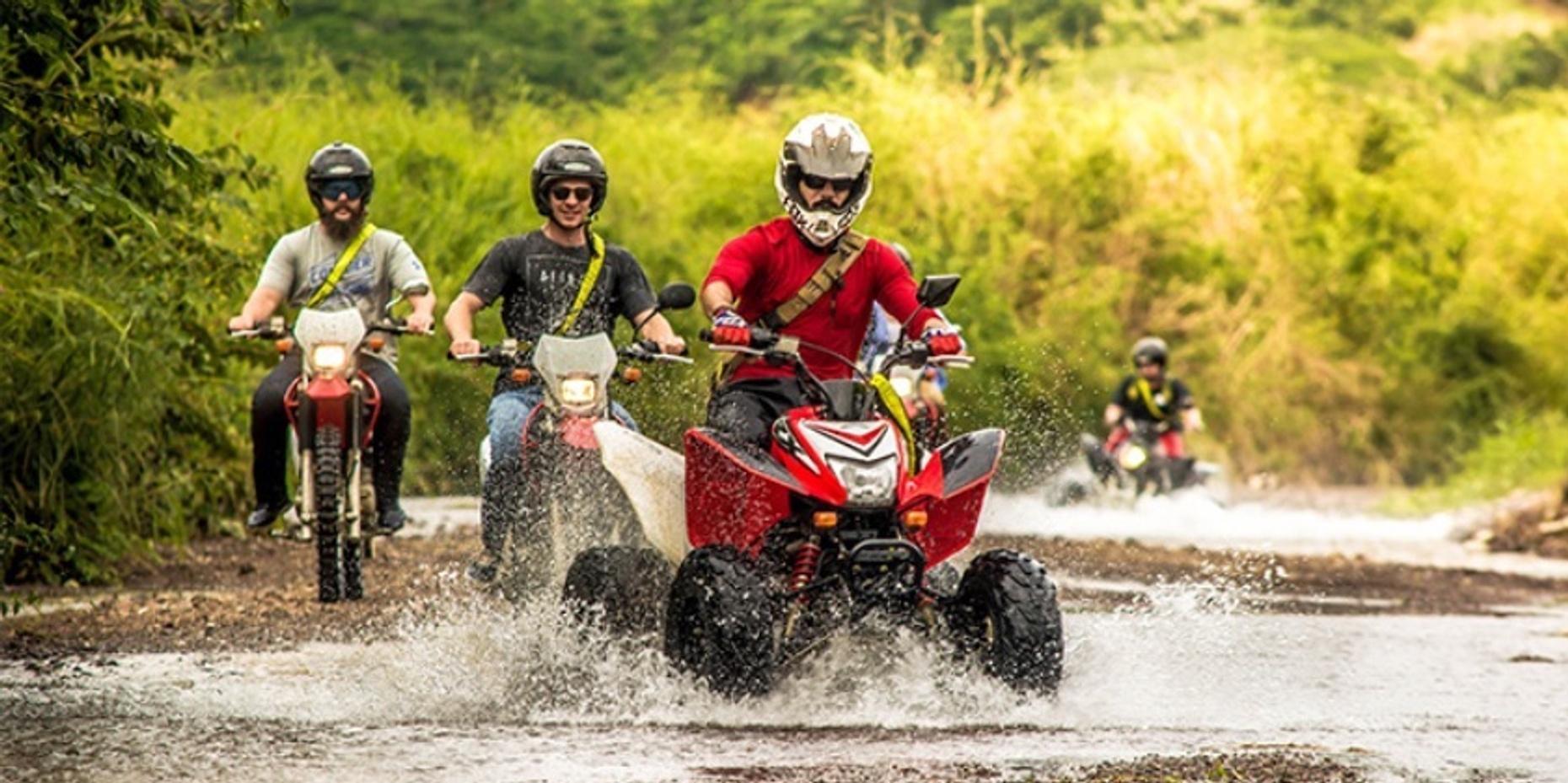 3 Hour ATV Waterfall Adventure in Jaco