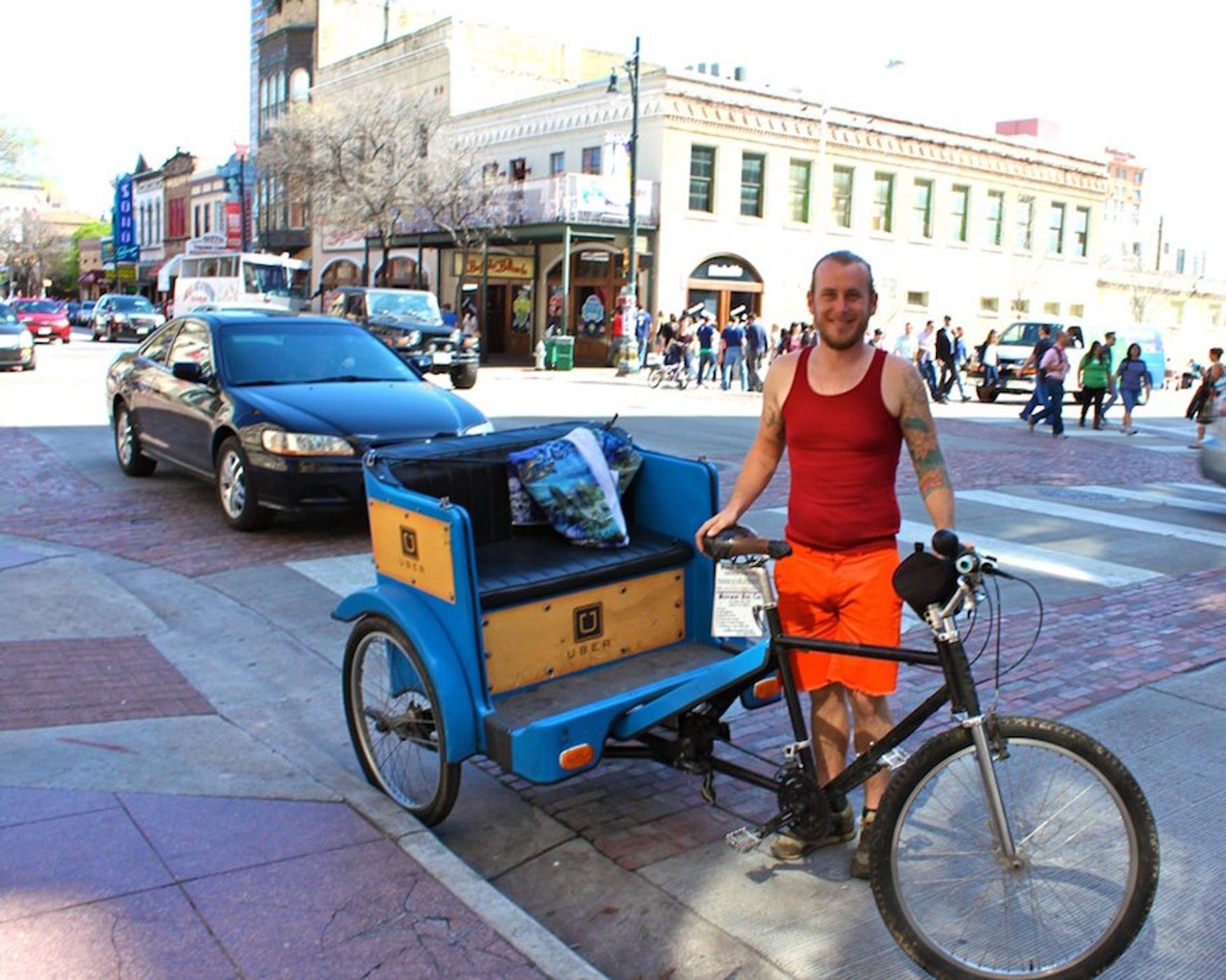 Downtown Pedicab Tour of Austin