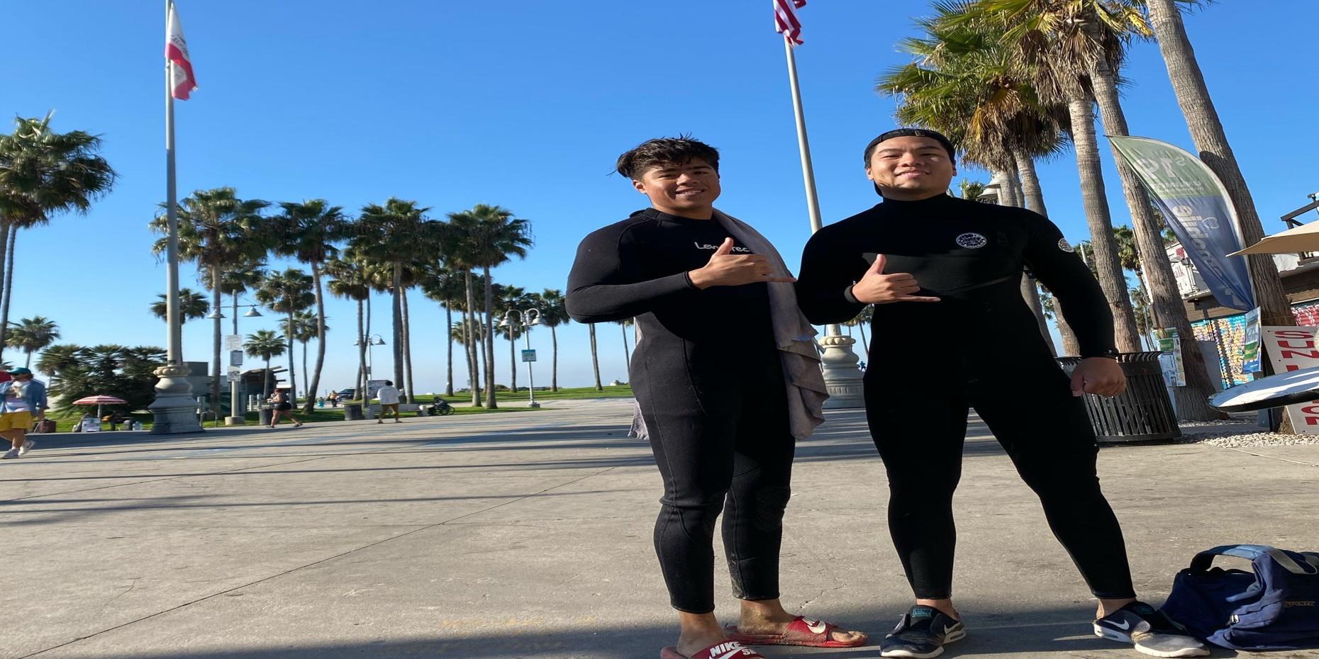 Private Surf Lesson in L.A.