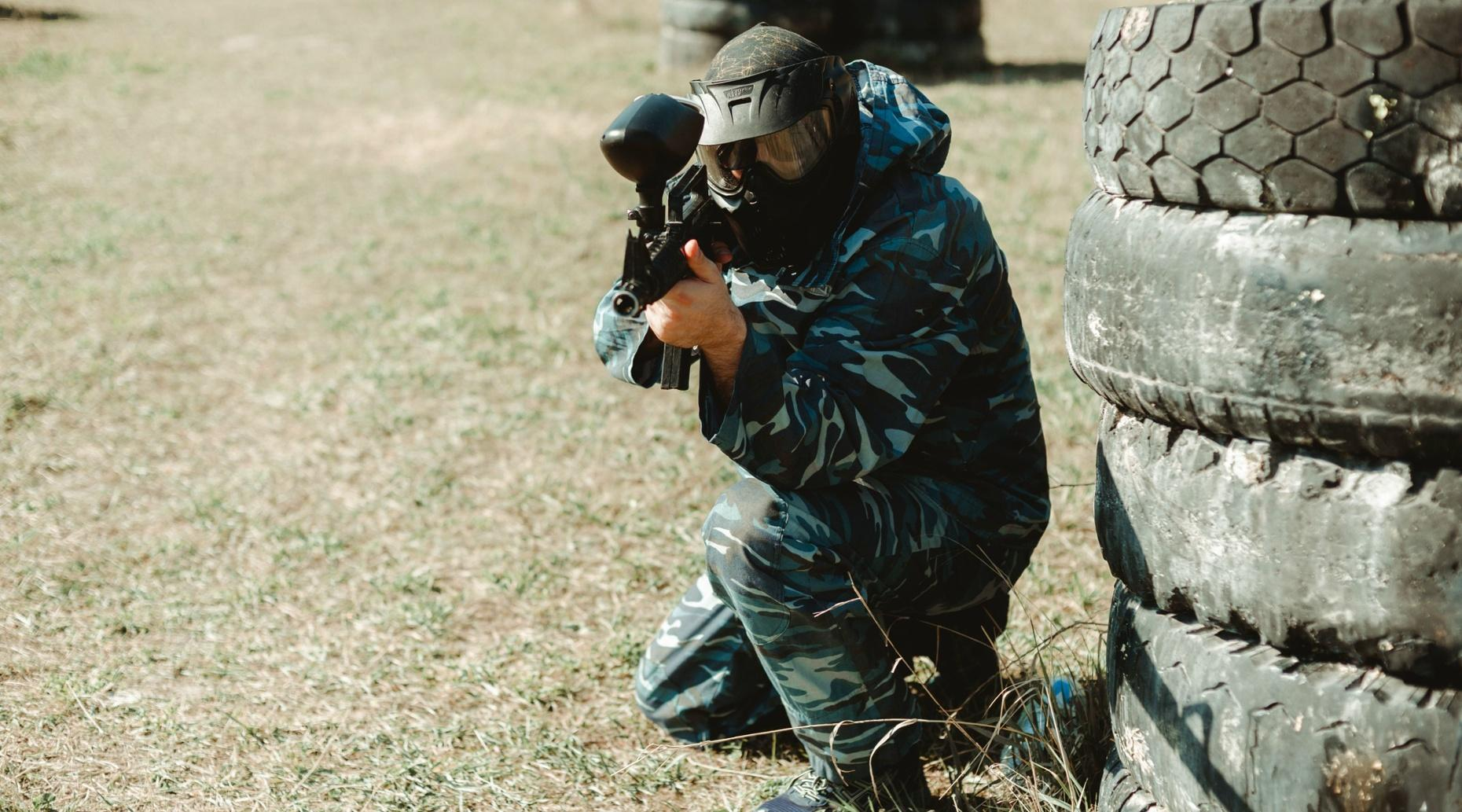 3-Hour Paintball Party Package in Grove City