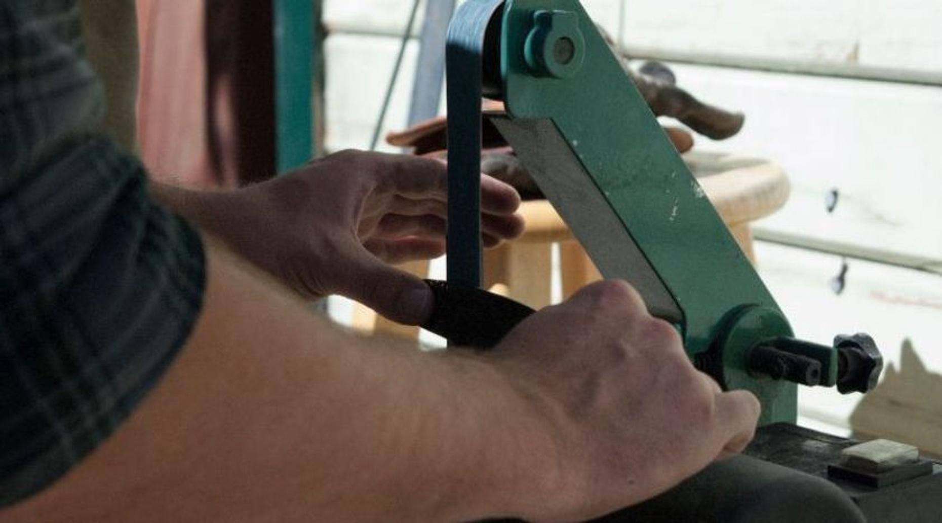 3-Hour Knife Forging Class in Provo