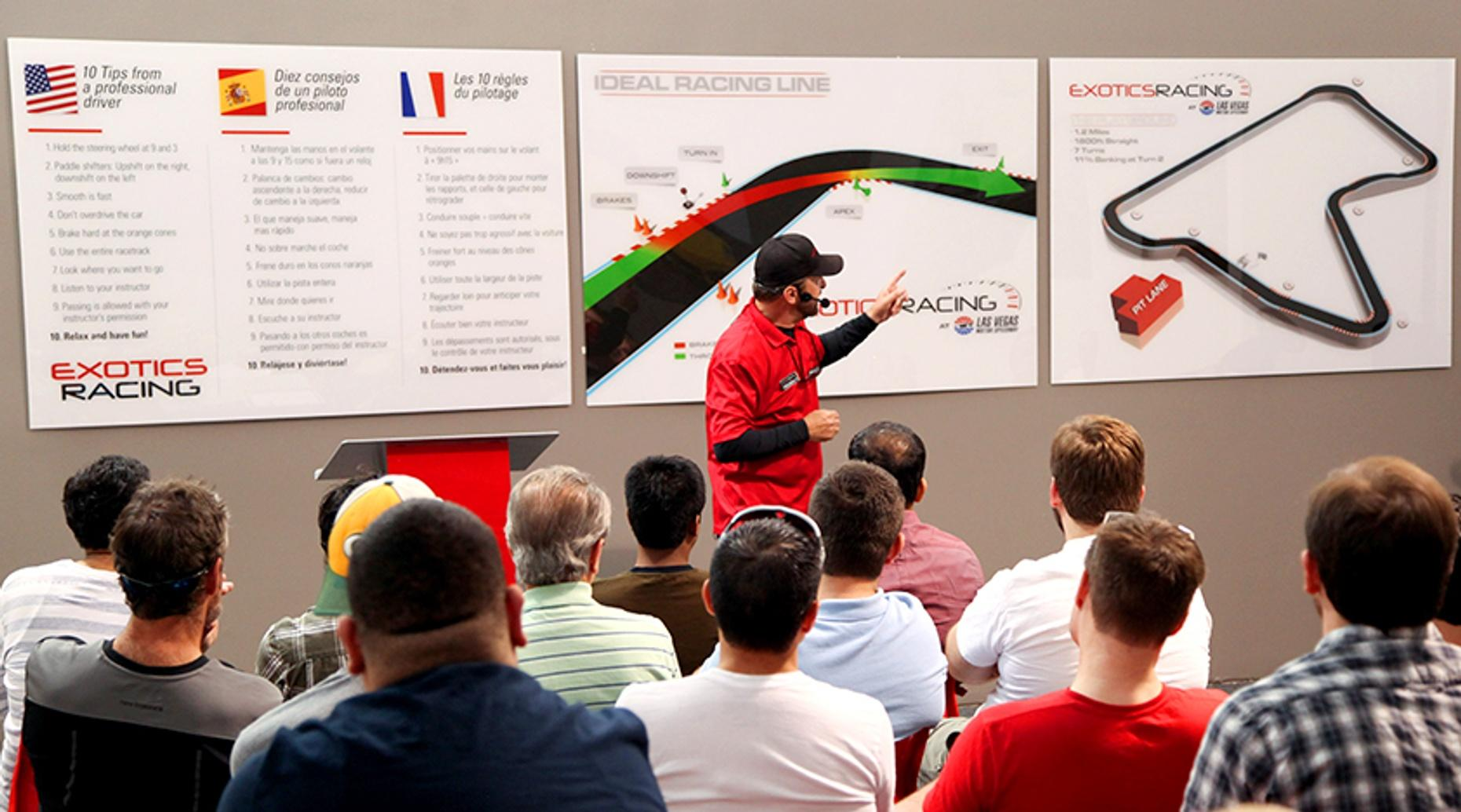 Las Vegas Race Car Driver Experience with a Porsche