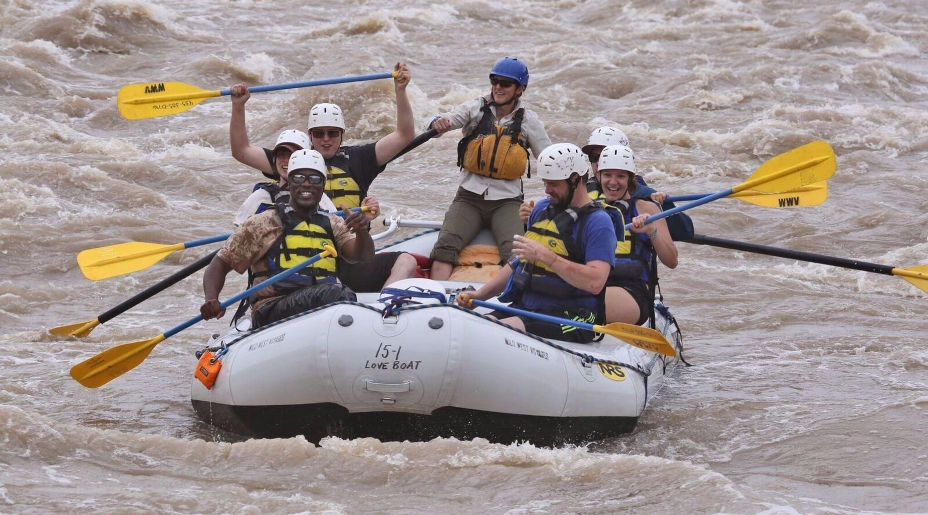 Full-Day Rafting Trip in Moab