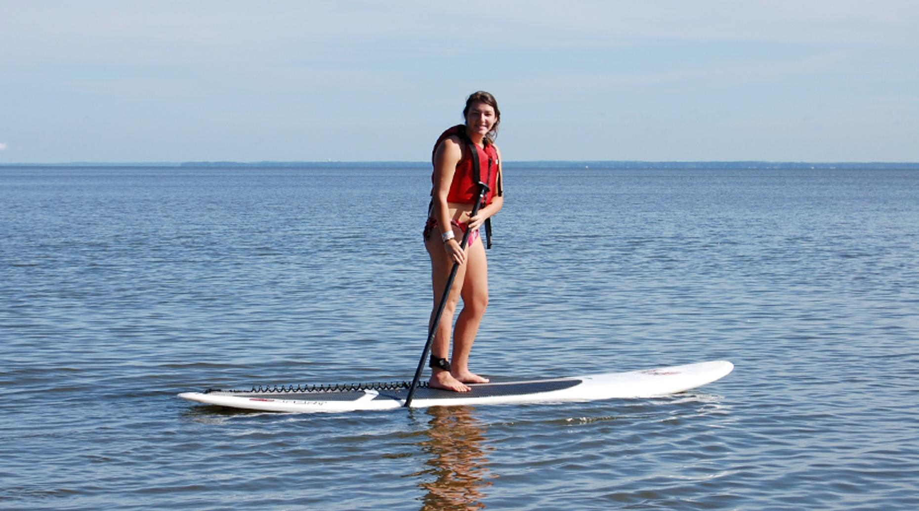 Beginner SUP Lesson in New Jersey