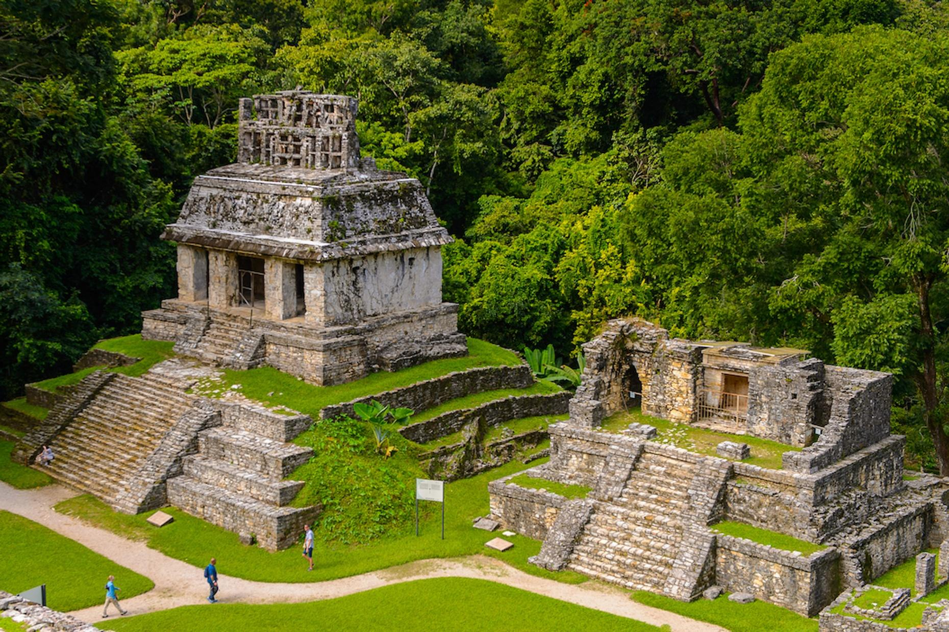 Guided Tour of Palenque from Cancun