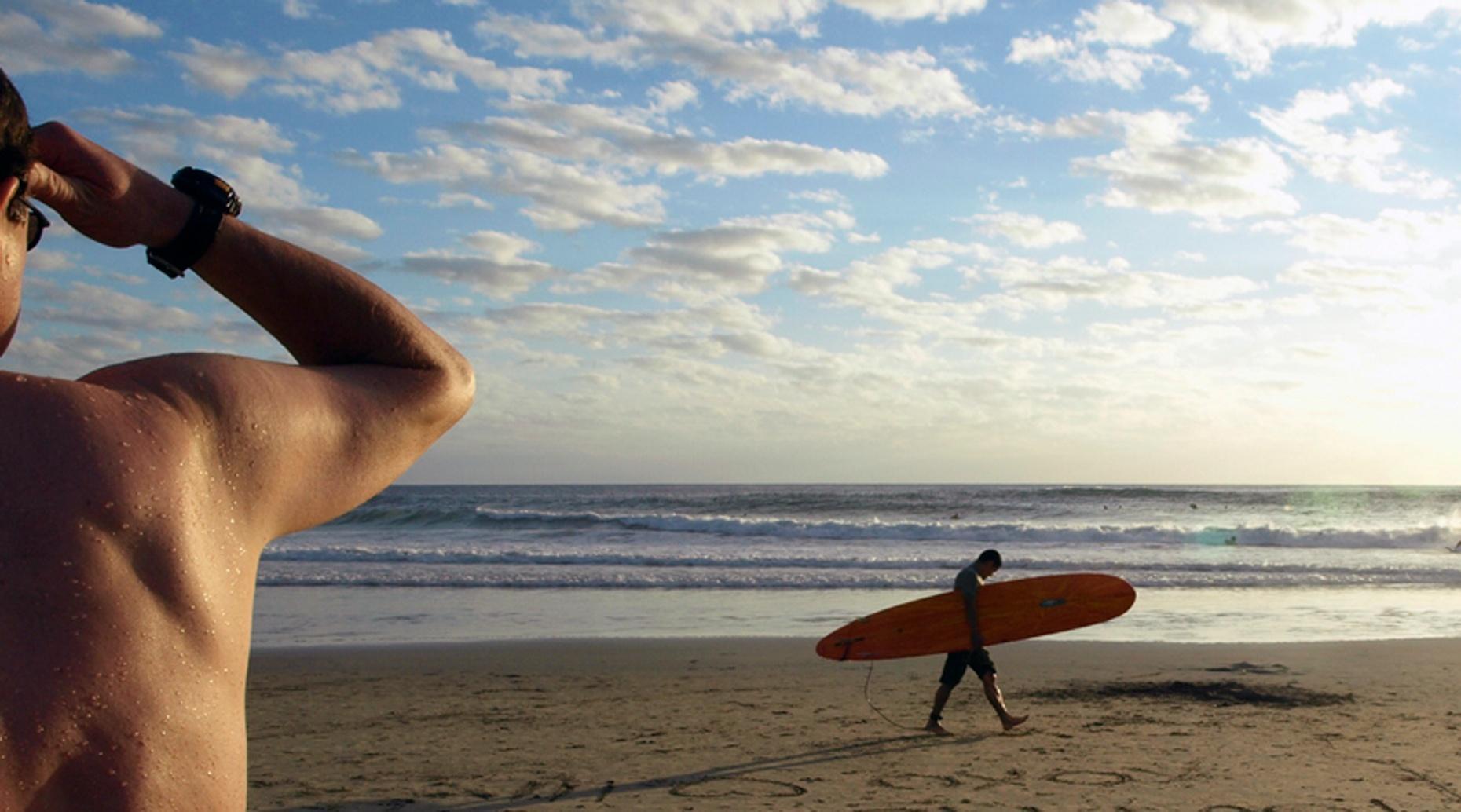 90-Minute Private Surf Lesson at Manhattan Beach