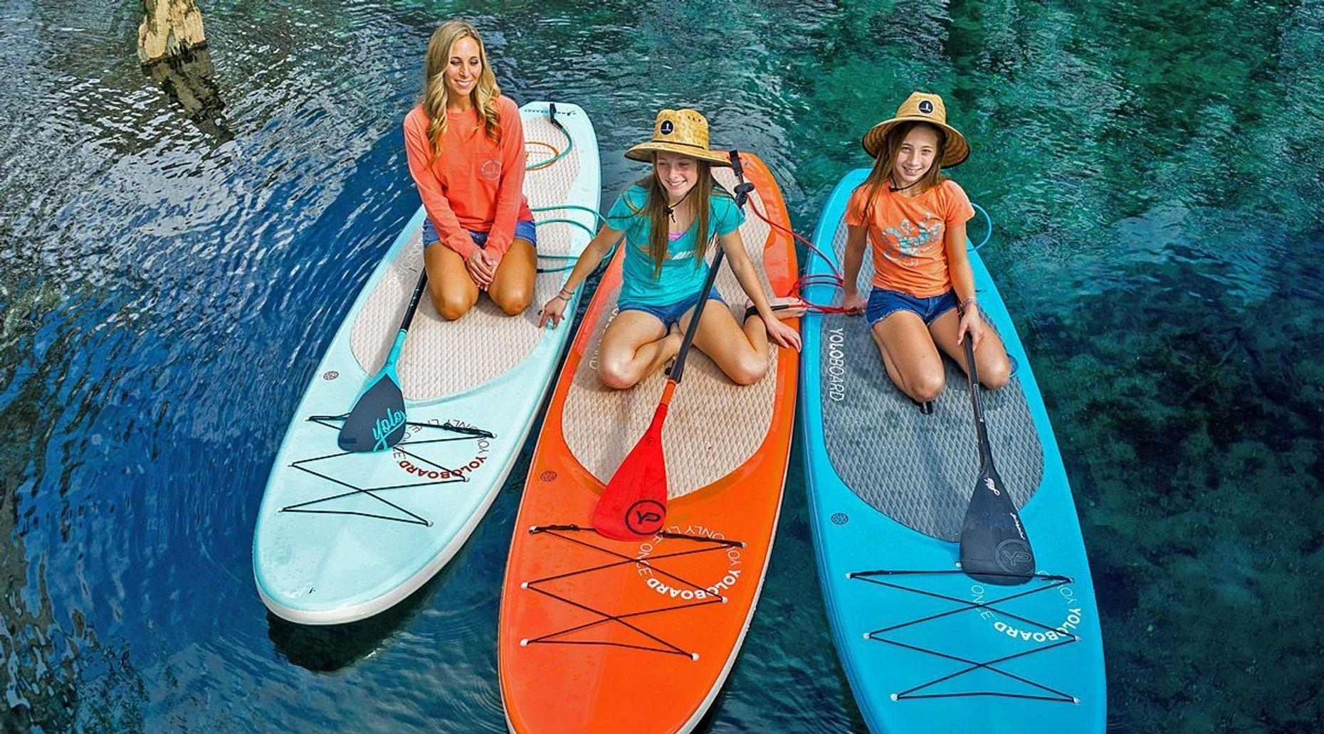 3-Hour Three Sisters Springs Paddleboard and Manatee Tour