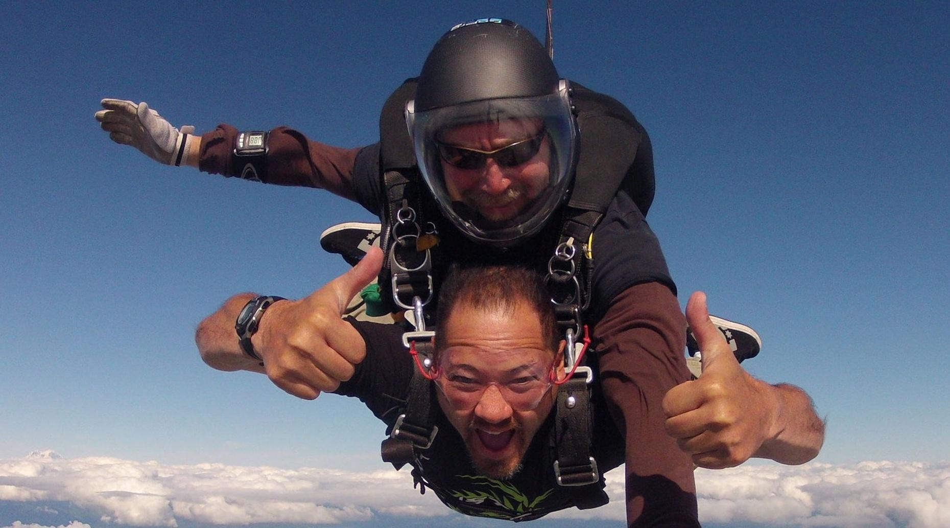 10,500ft Tandem Skydive in Toledo