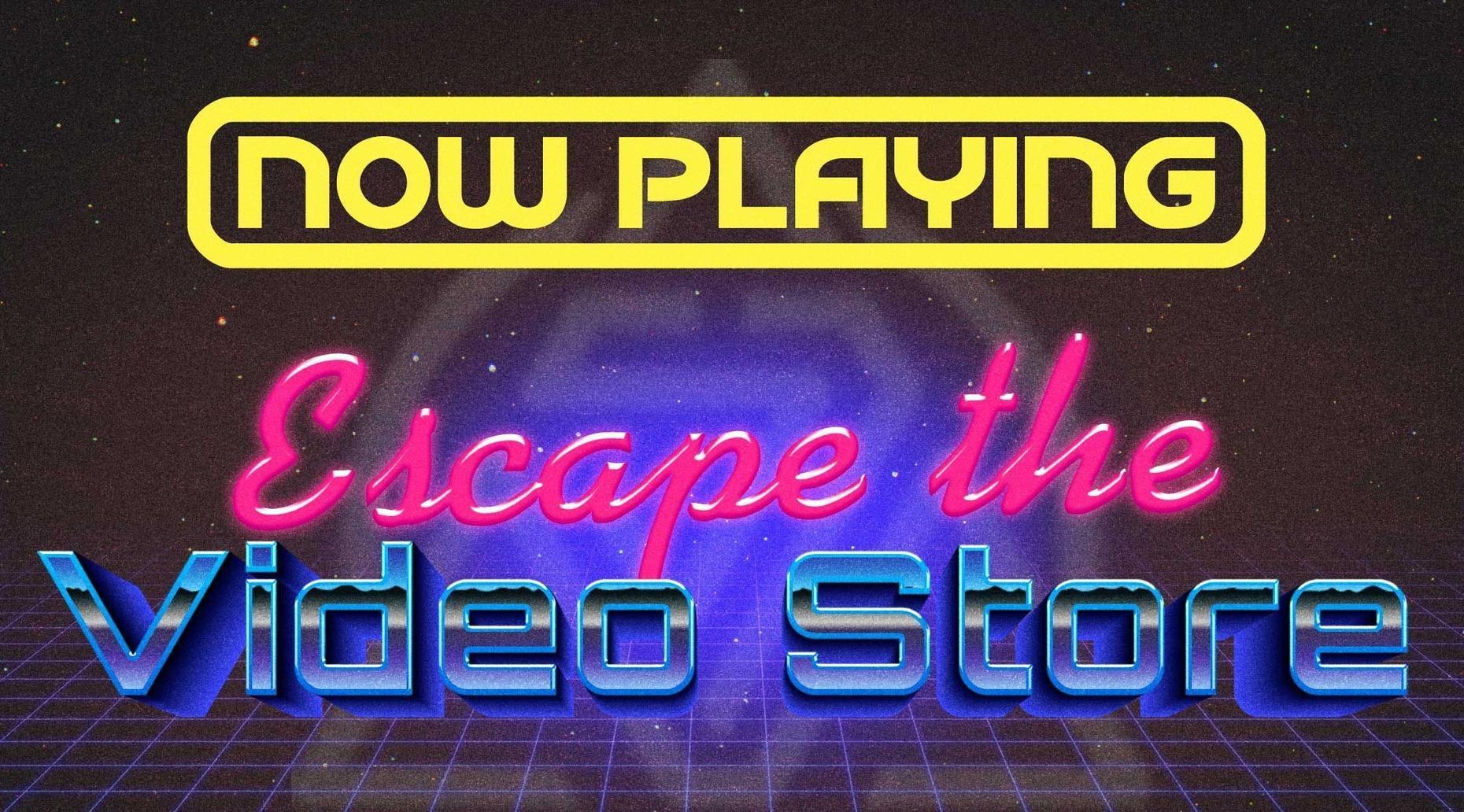 Escape The Video Store Game