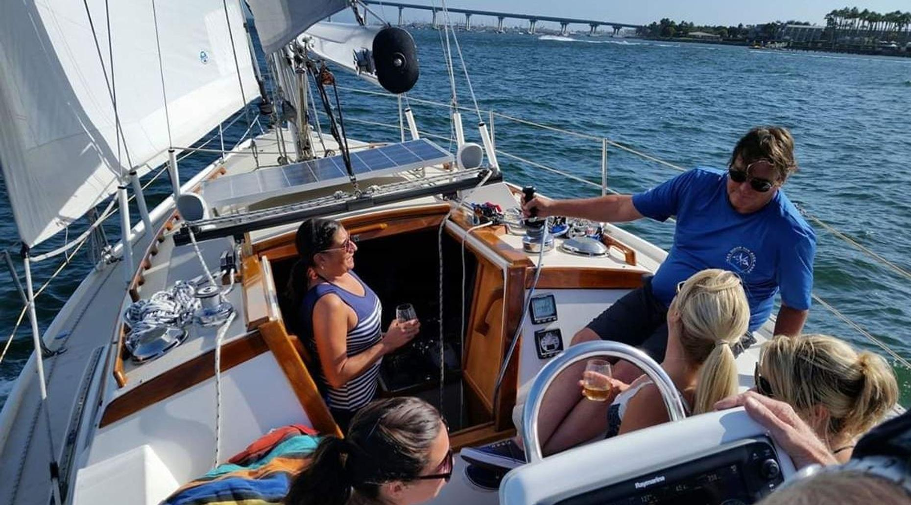 Sailing Tour for Two on San Diego Bay (6 pass max)