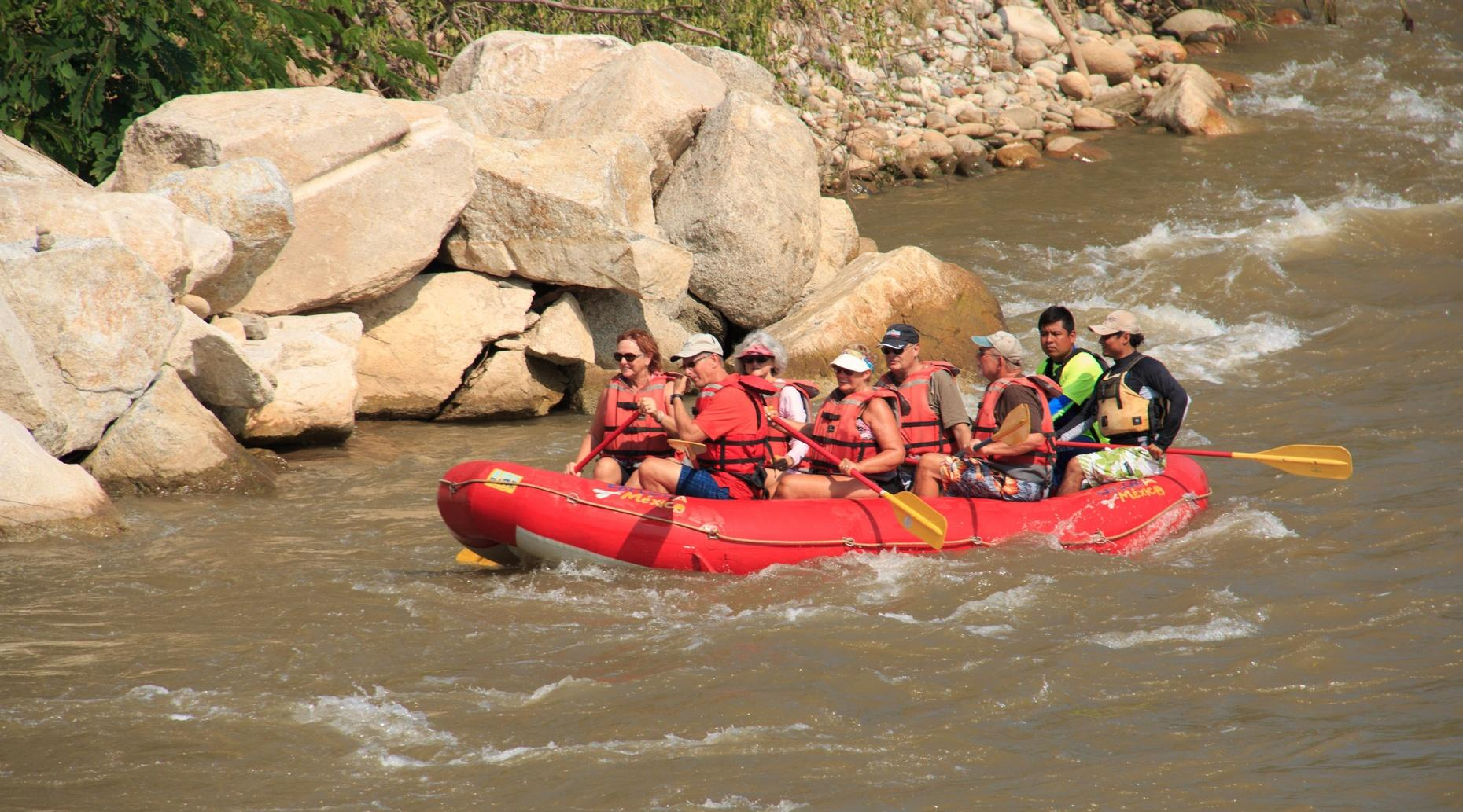 Huatulco Adventure with River Floating & Mudbath Experience