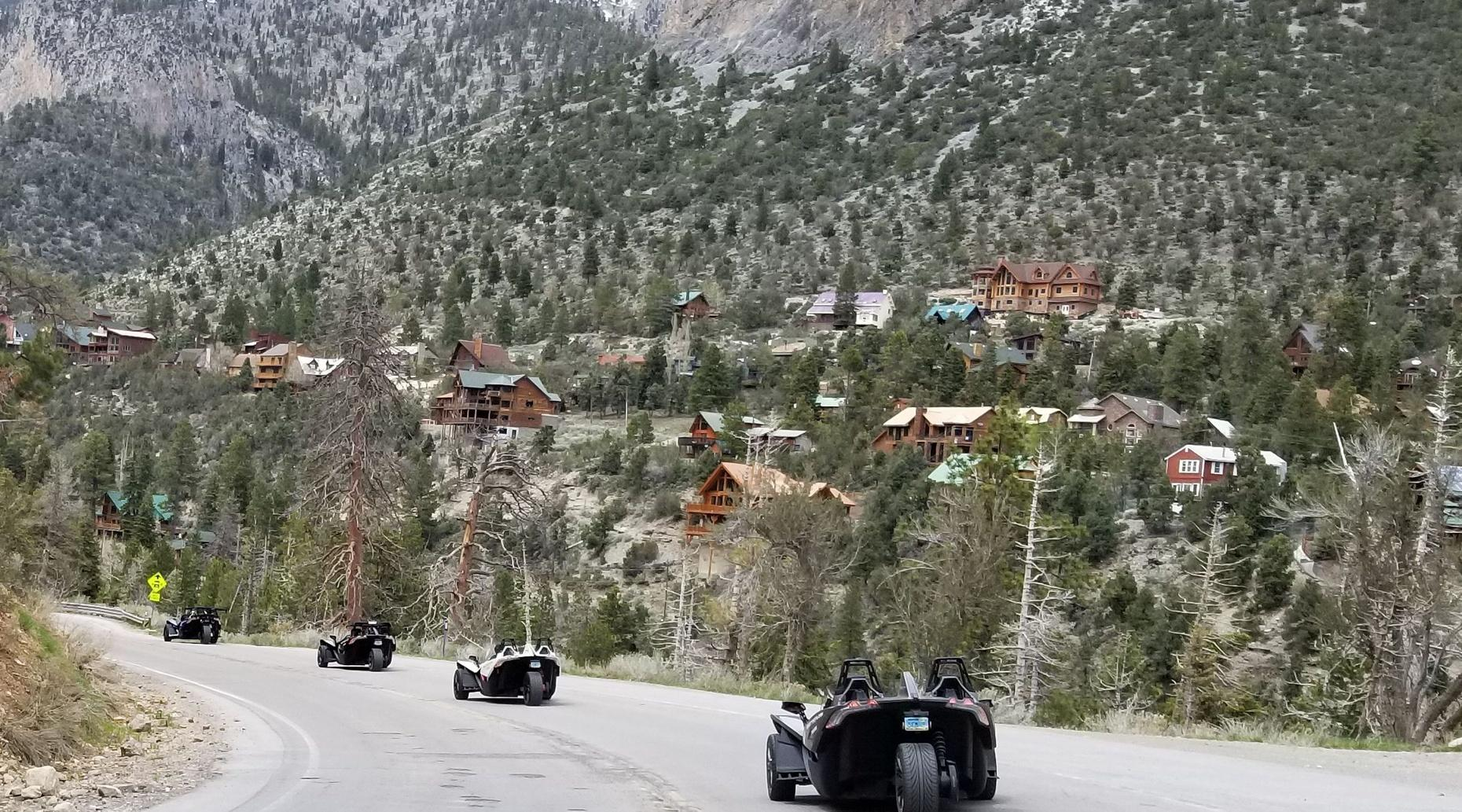 Slingshot Tour to Mount Charleston