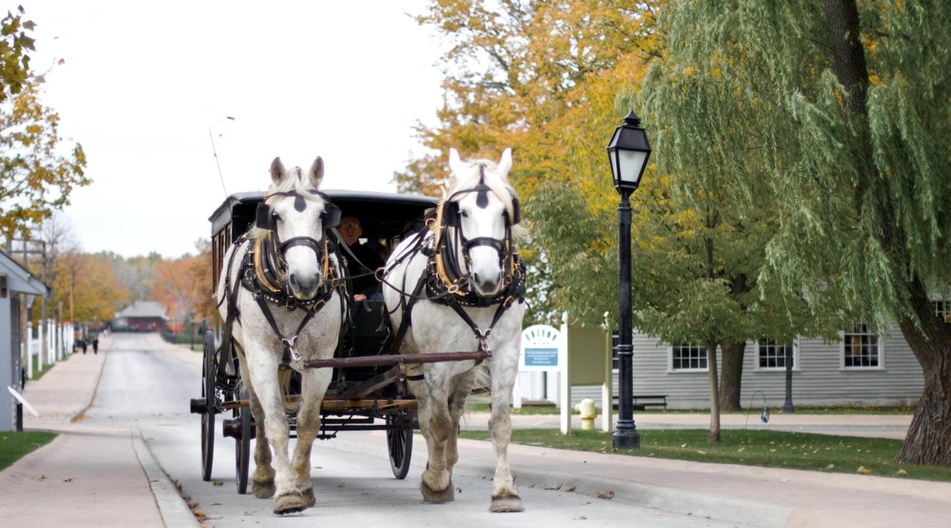 Christmas Caroling Carriage Ride in Bend