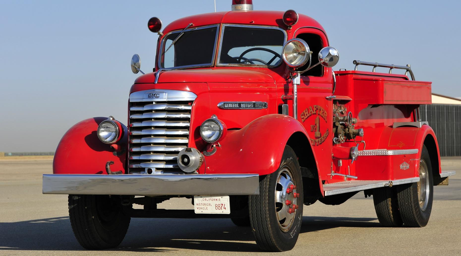 Classic Fire Engine Tour in San Francisco