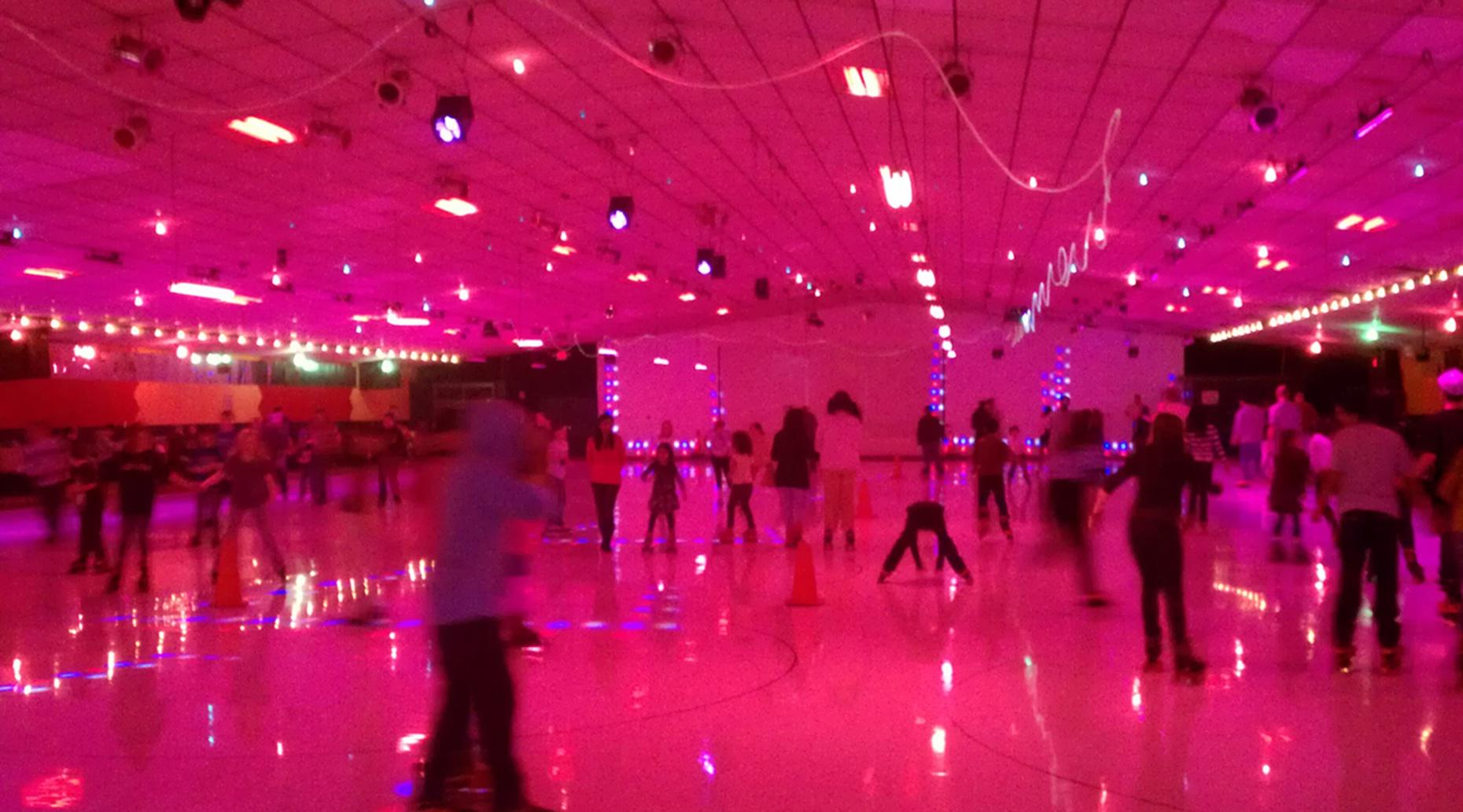 Birthday Party at a Classic Roller Rink in Wichita