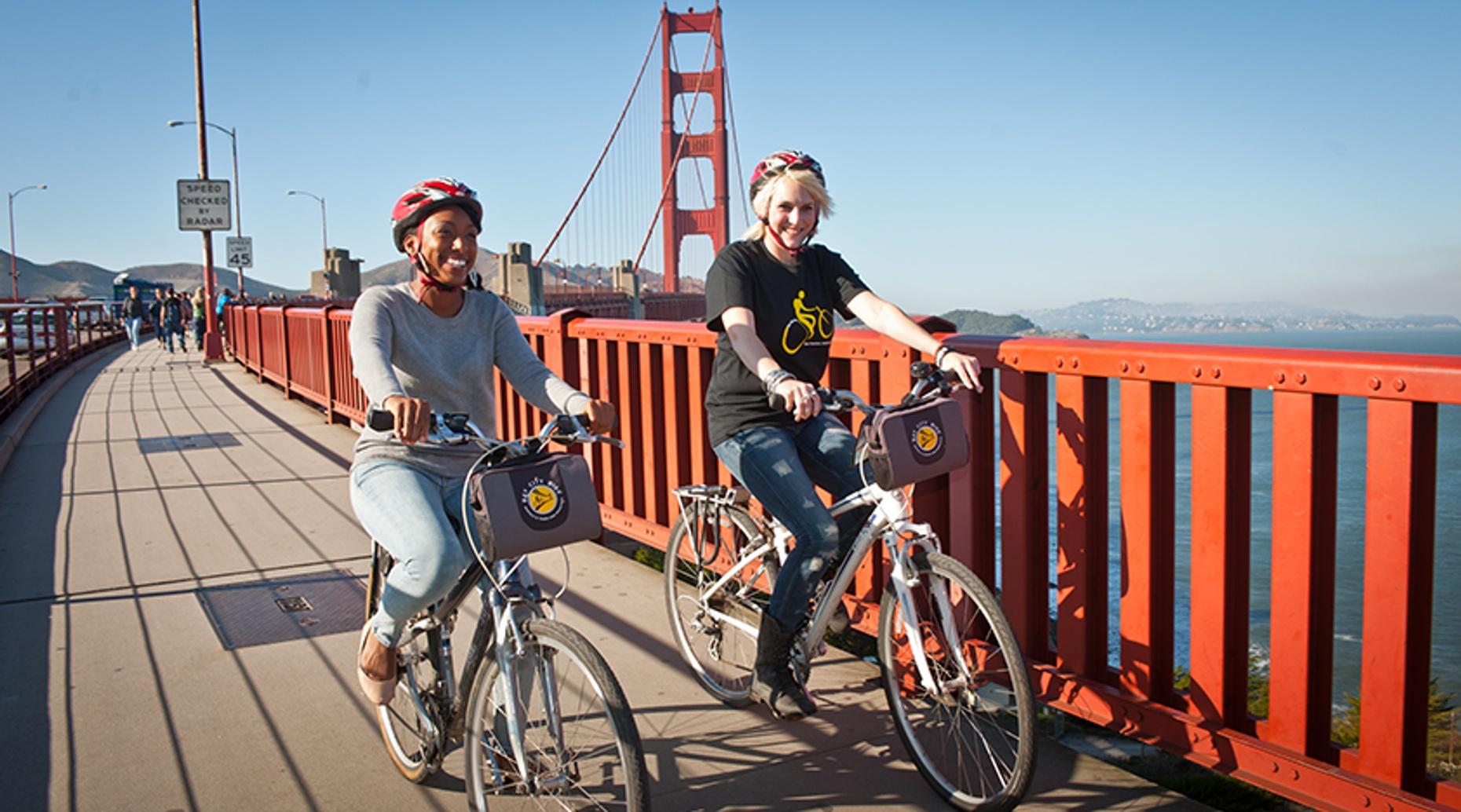 Golden Gate Bridge Guided Bike Ride