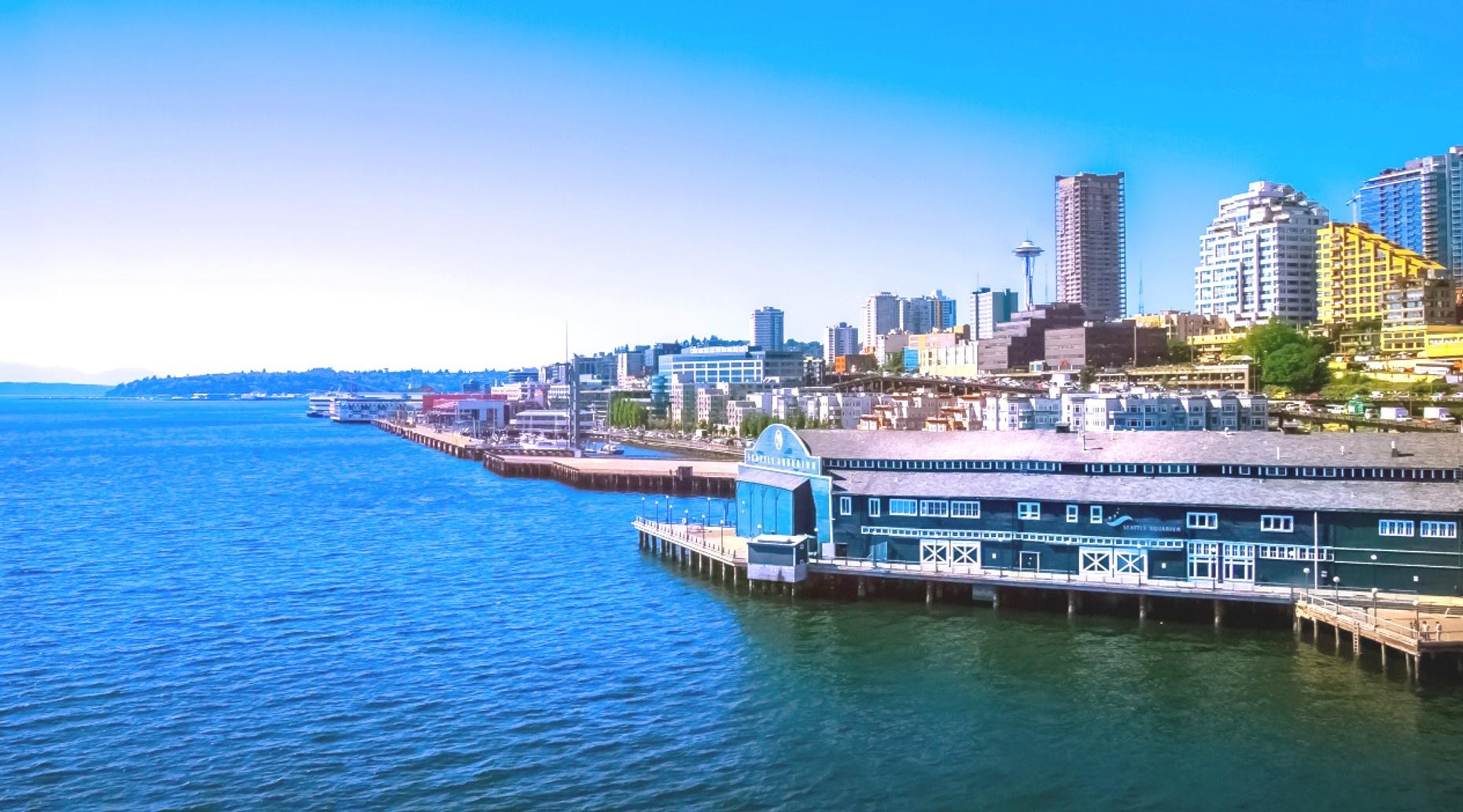 Waterfront & Pioneer Square 5K Running Tour in Seattle
