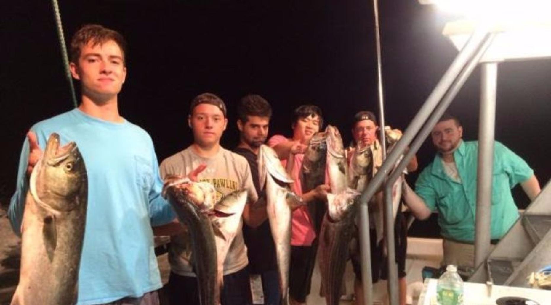Open-Boat Night Fishing Trip from Flushing