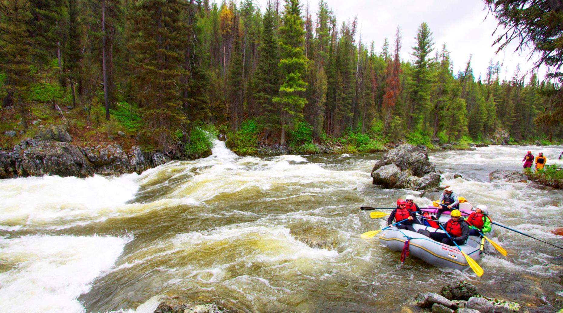 River Rafting Adventure in Talkeetna