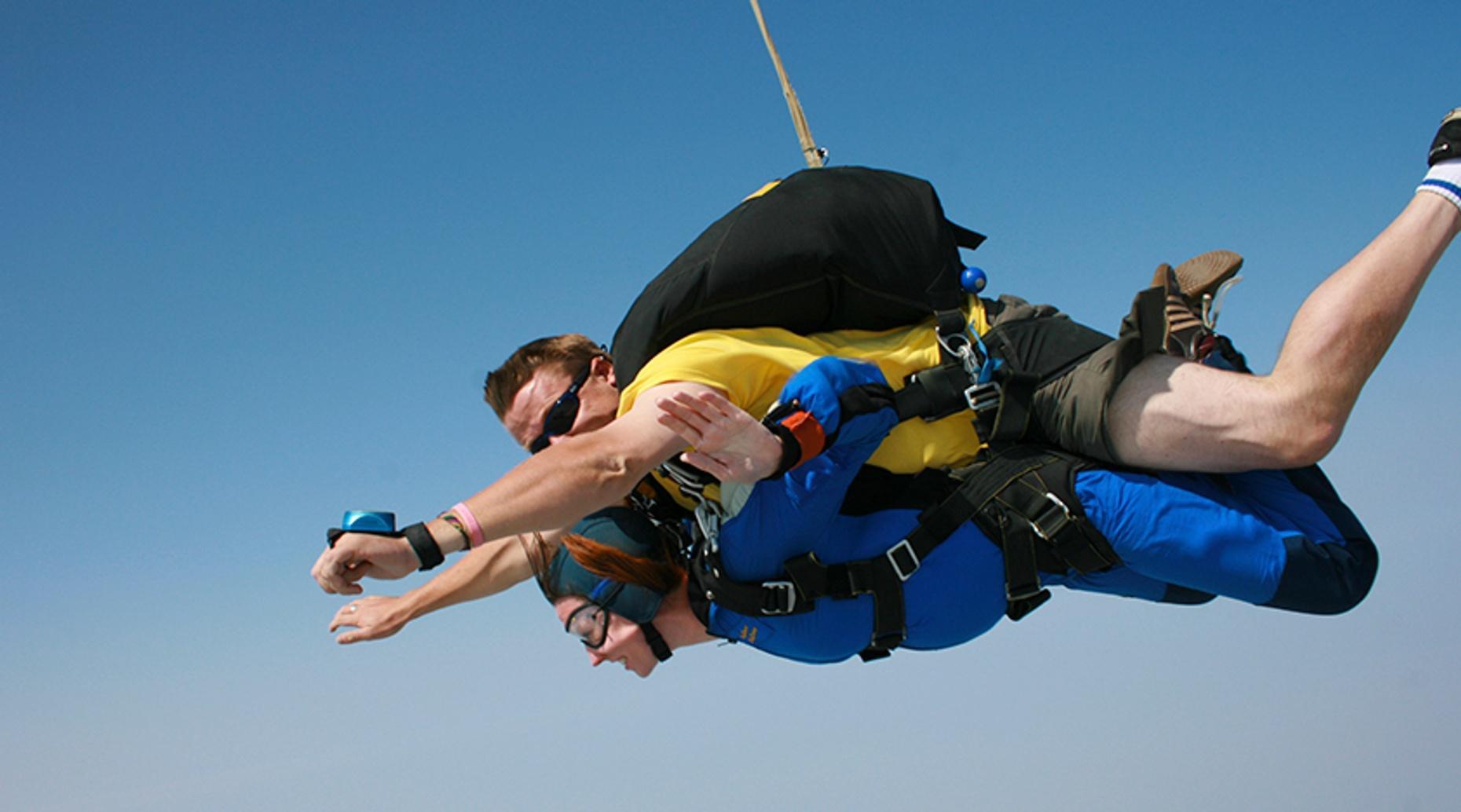 Tandem Skydiving Adventure in Kansas City
