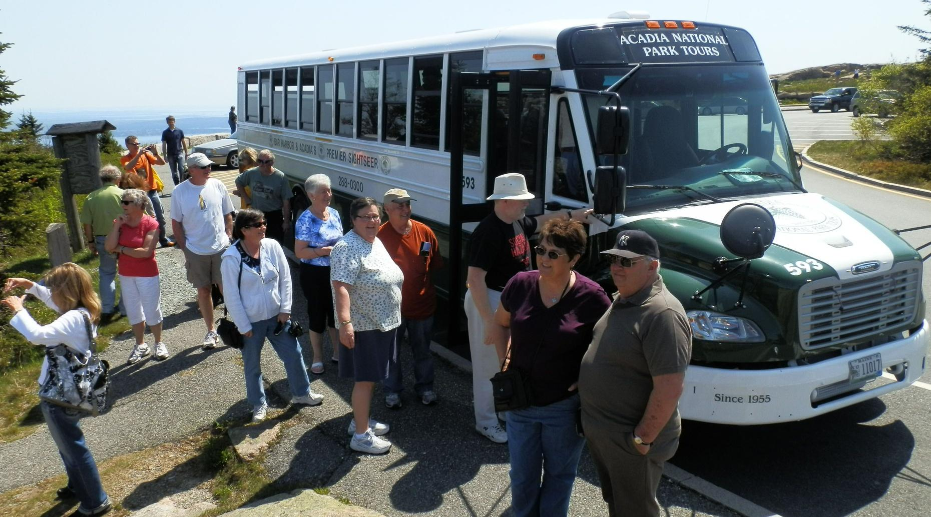 Bus Tour of Acadia National Park