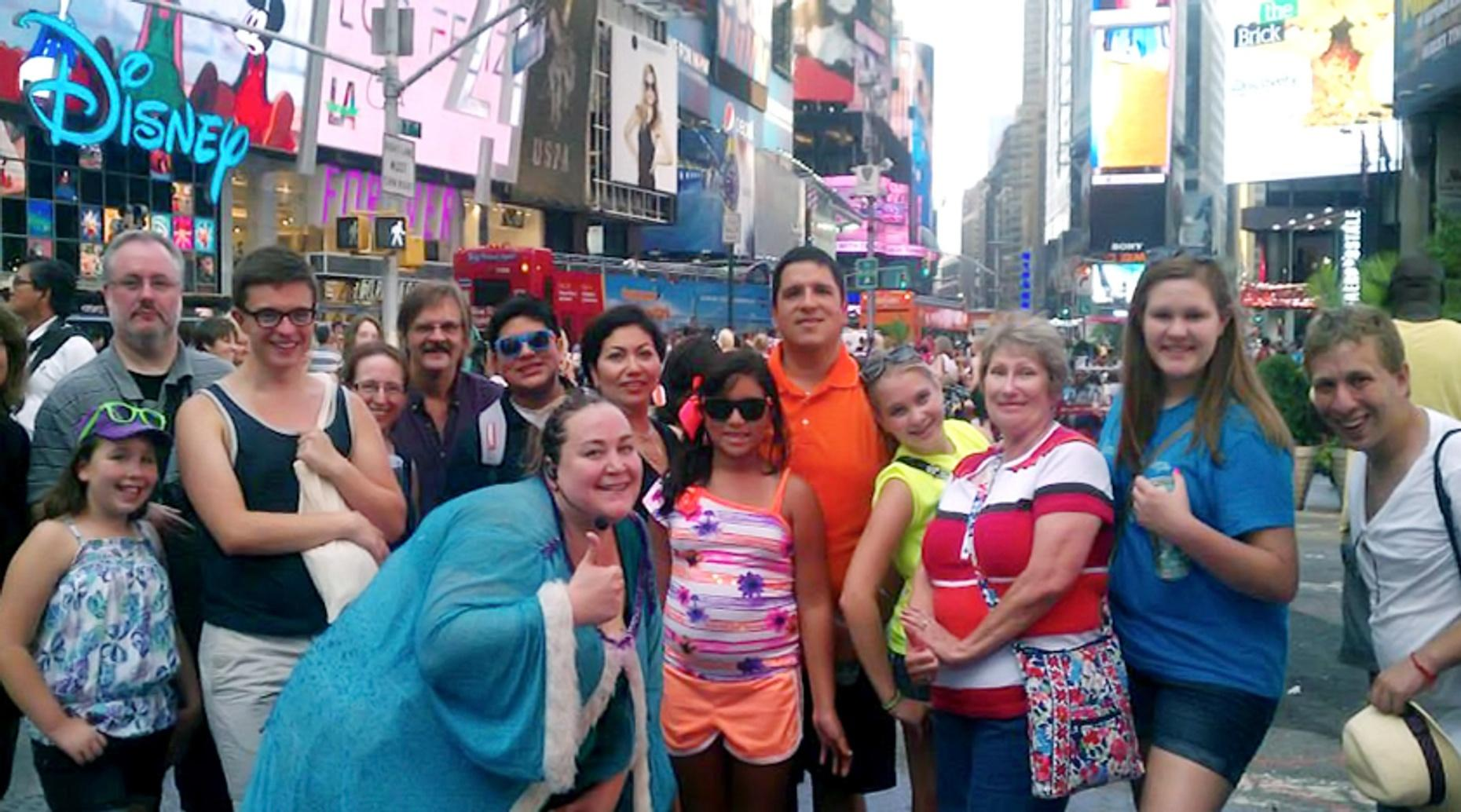 Gleeks on Broadway Walking Tour