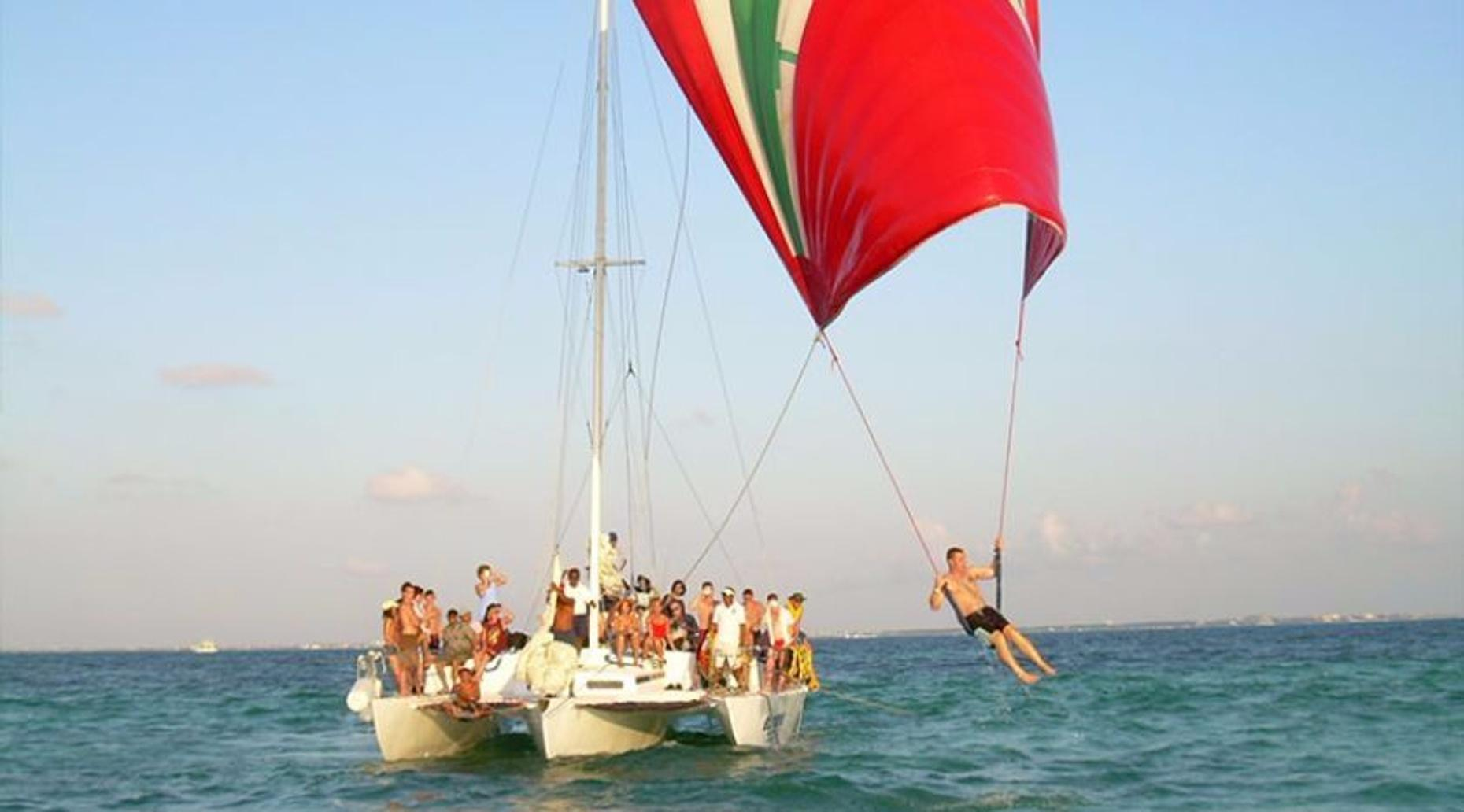 Isla Mujeres Sailing Adventure in Cancun