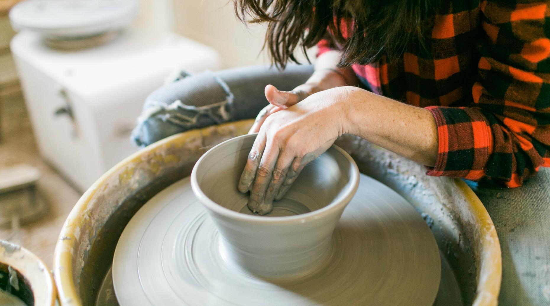 Pottery Wheel Class in Ellicott City