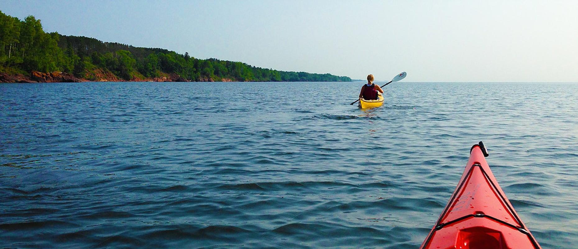 Two Hour Kayak and Beer Tour in Duluth