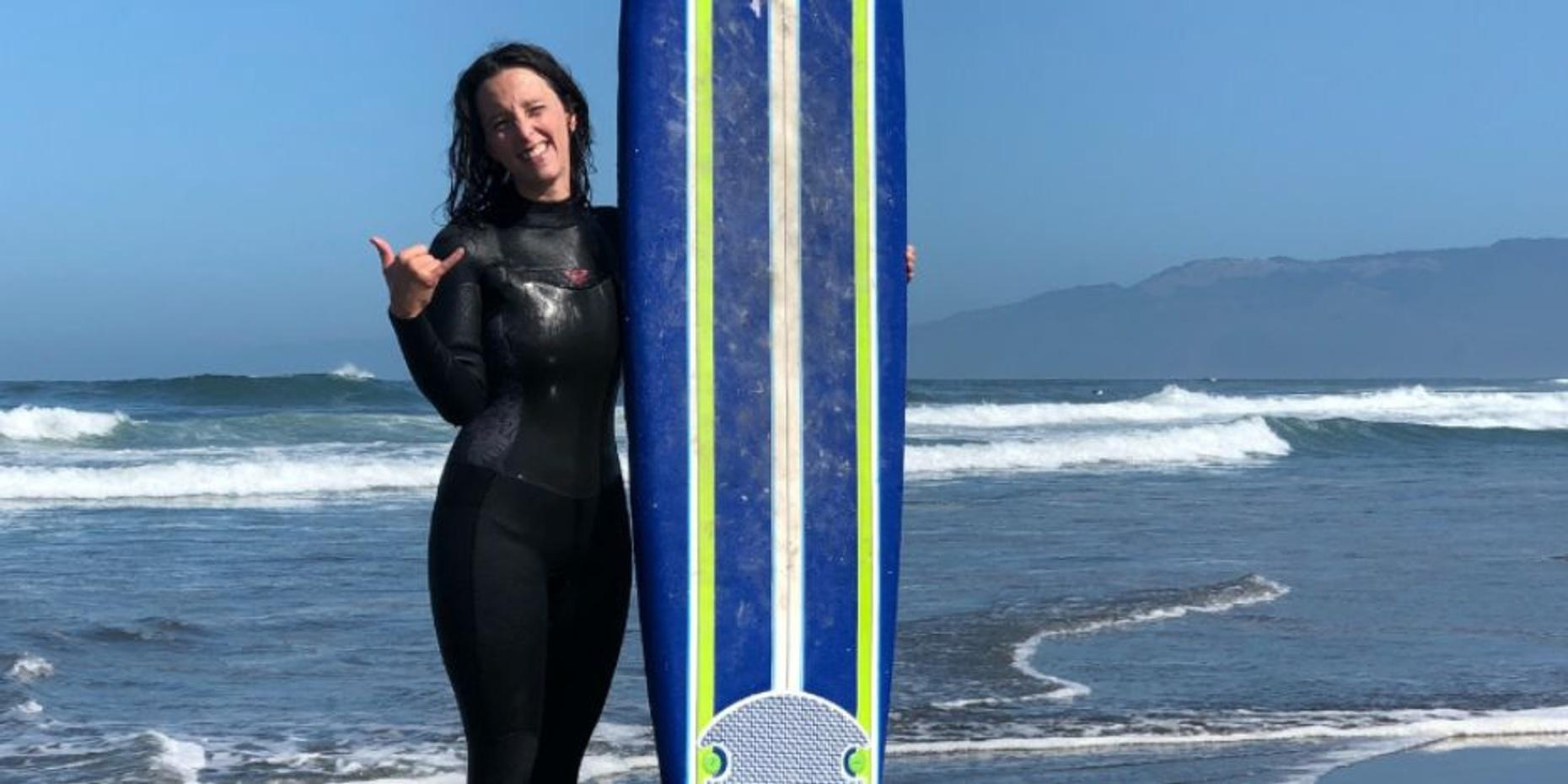 Private Surf Lesson in San Diego