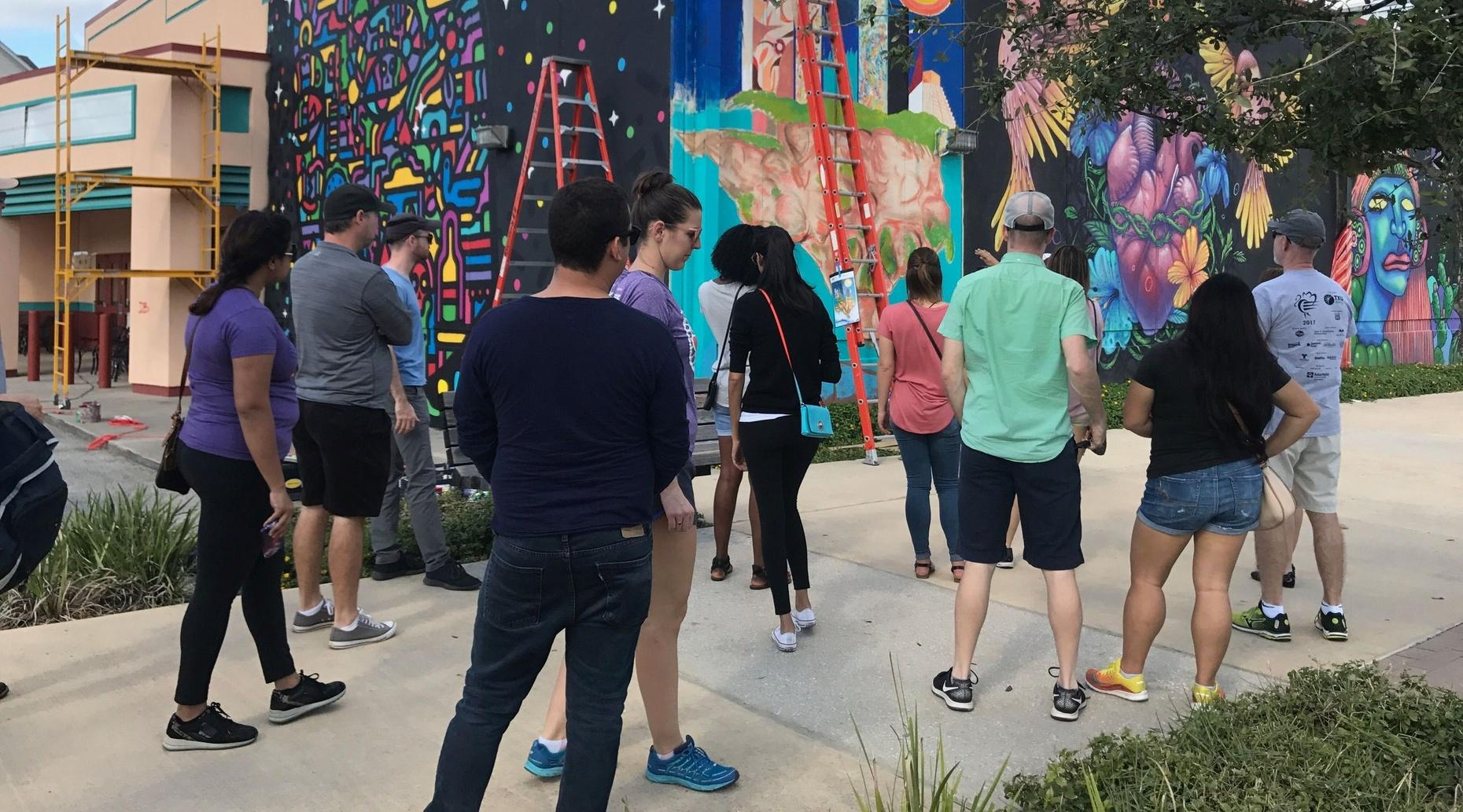 Street Art & Mural Tour in Houston