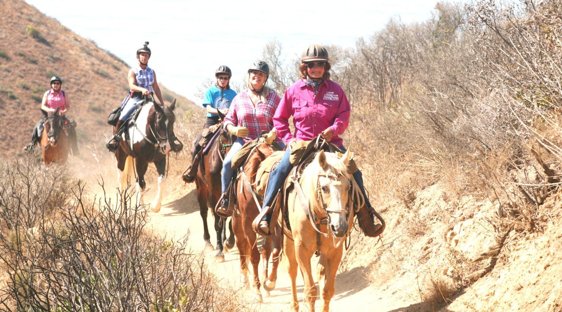 Red Canyon Thunder Mountain Trail Horseback Ride