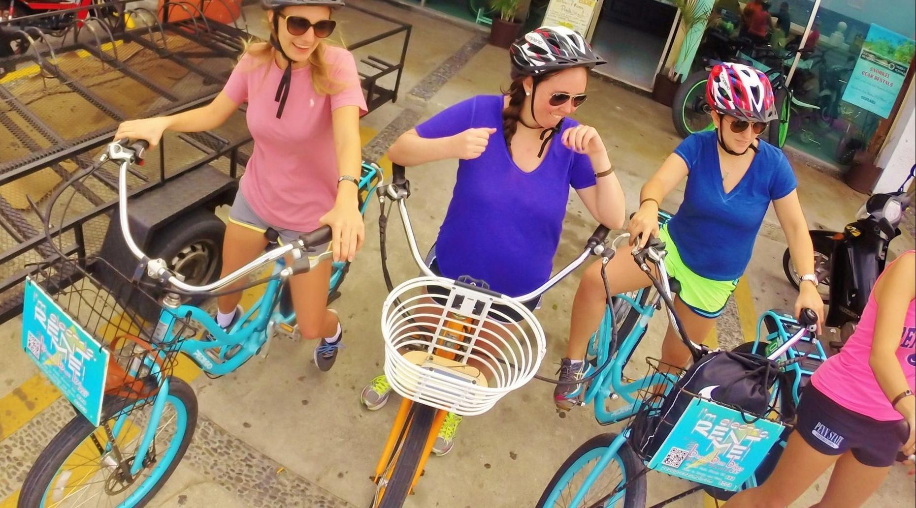 Electric Bike Ride, Sky Reef N' Snorkel