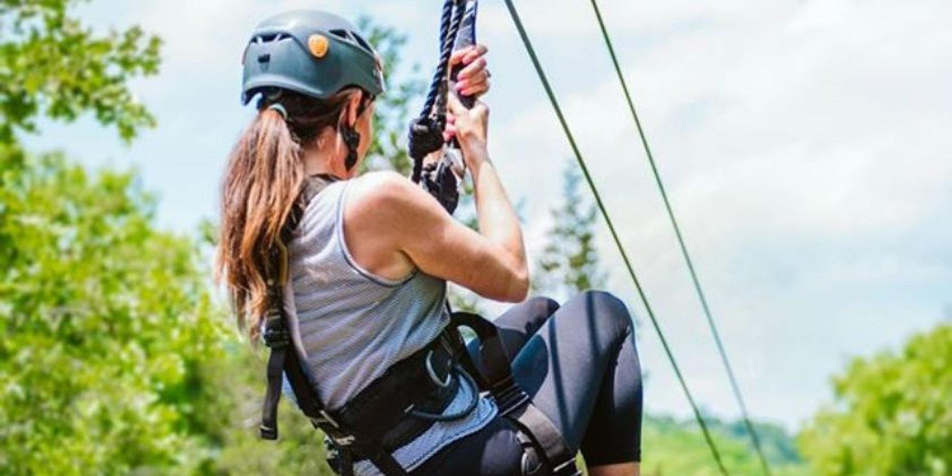 Zipline Experience over the Ozarks in Branson