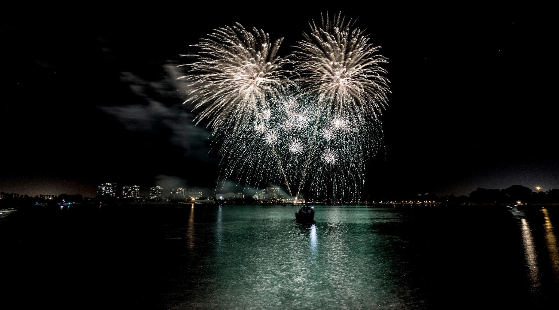 One-Hour Fireworks Cruise in Destin