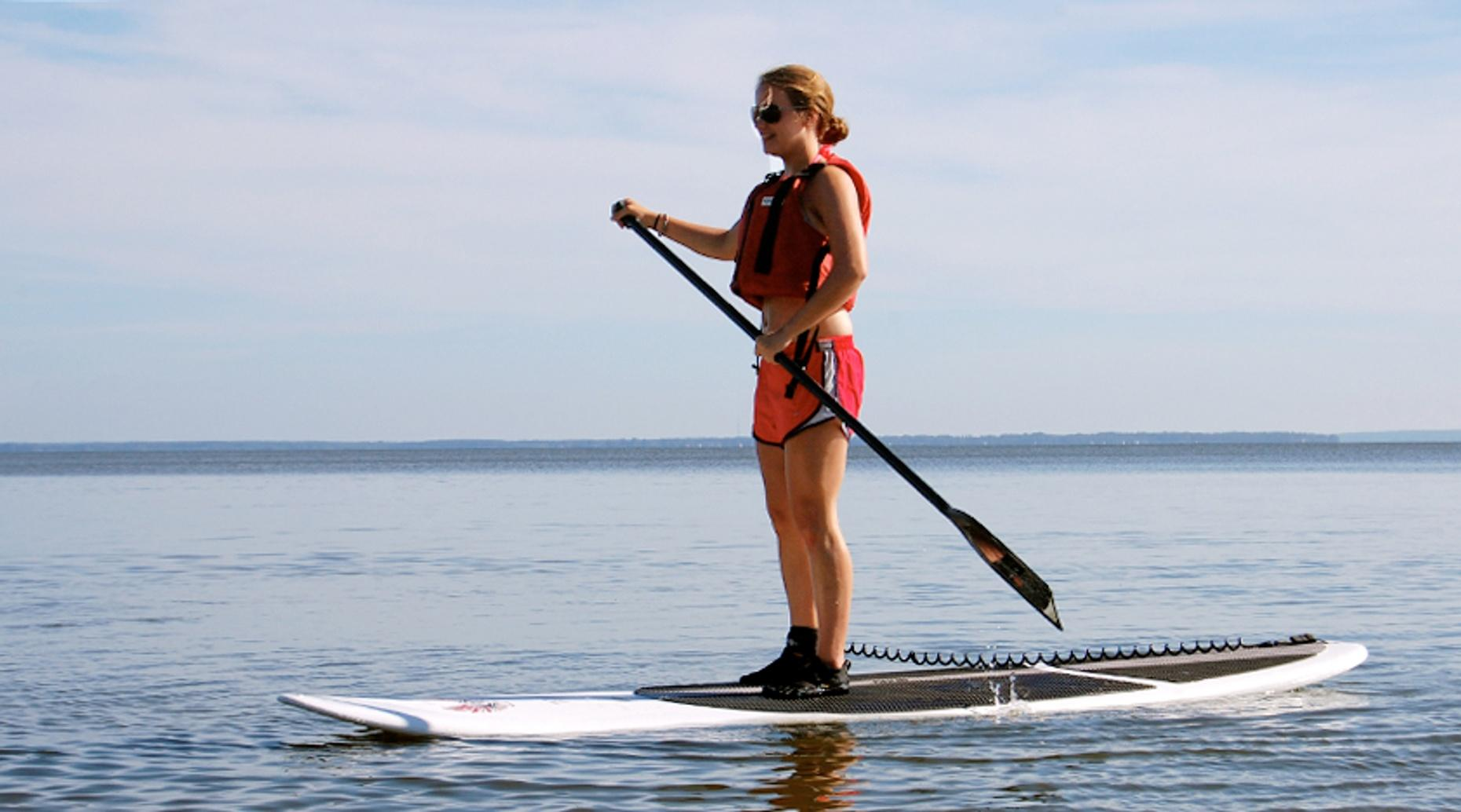 Stand-Up Paddleboard Lesson in San Diego