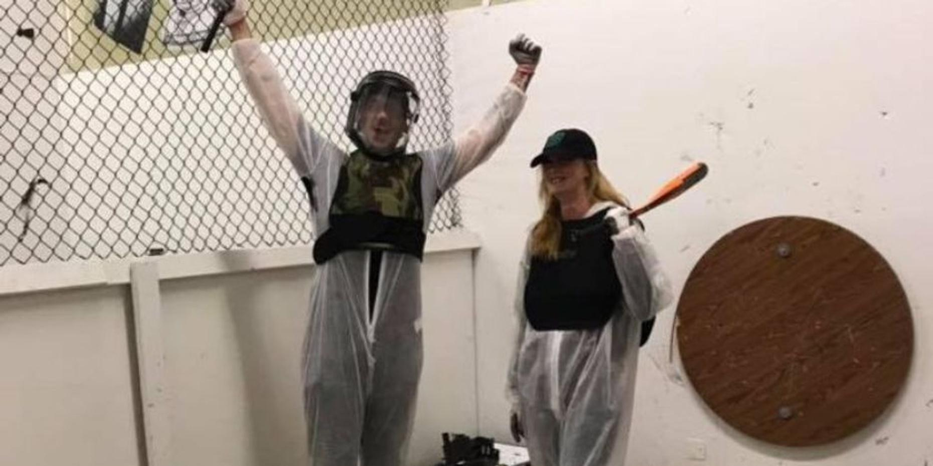 35-minute Rage Room Experience in Bloomsburg