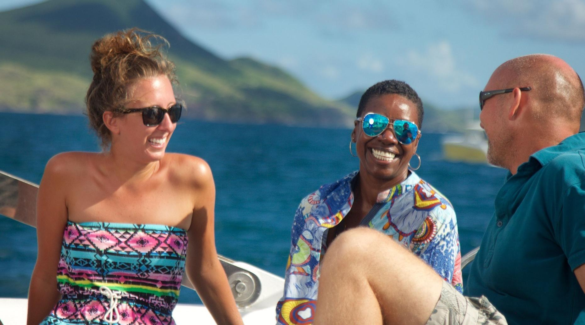 Full-Day Sail to Nevis & Lunch