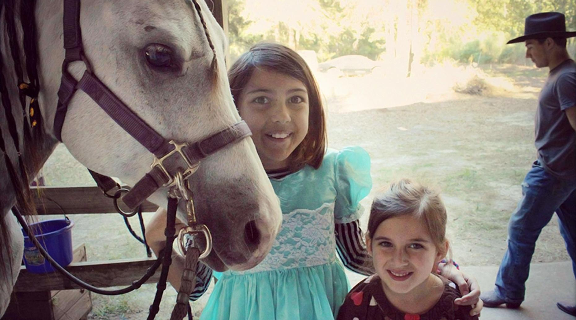 Savannah Beginner Horse Riding Lesson