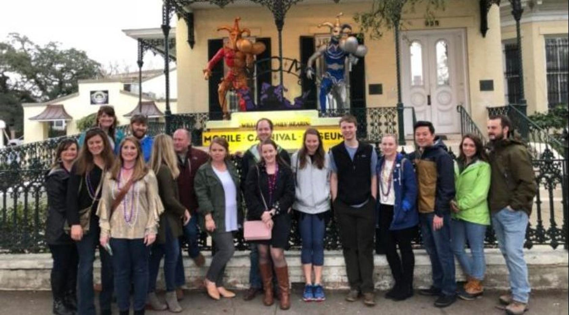 Mardi Gras Carnival Float and Food Tour in Mobile