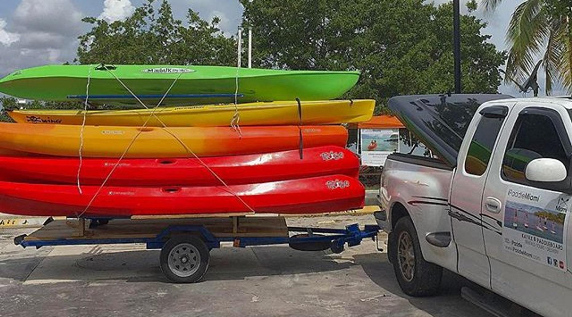 Kayak or Paddleboard Rental in Miami