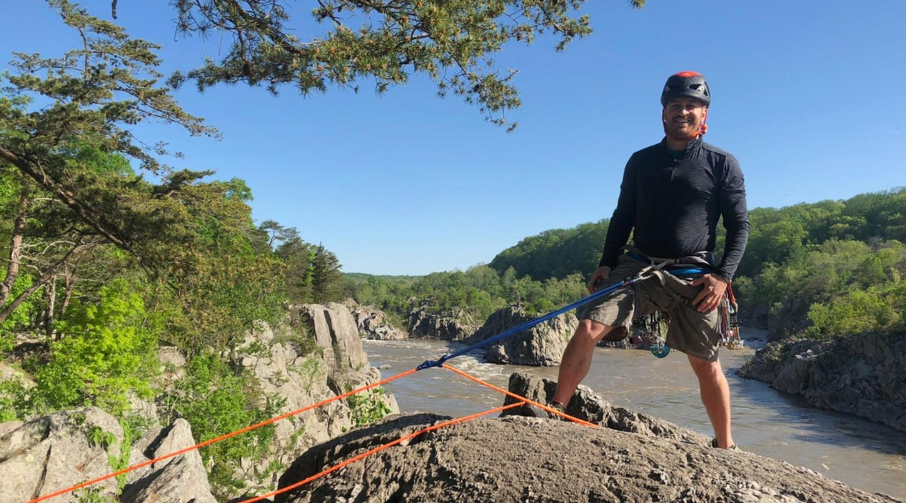 Single Pitch Climbing Instructor Course and Assessment in Nellysford