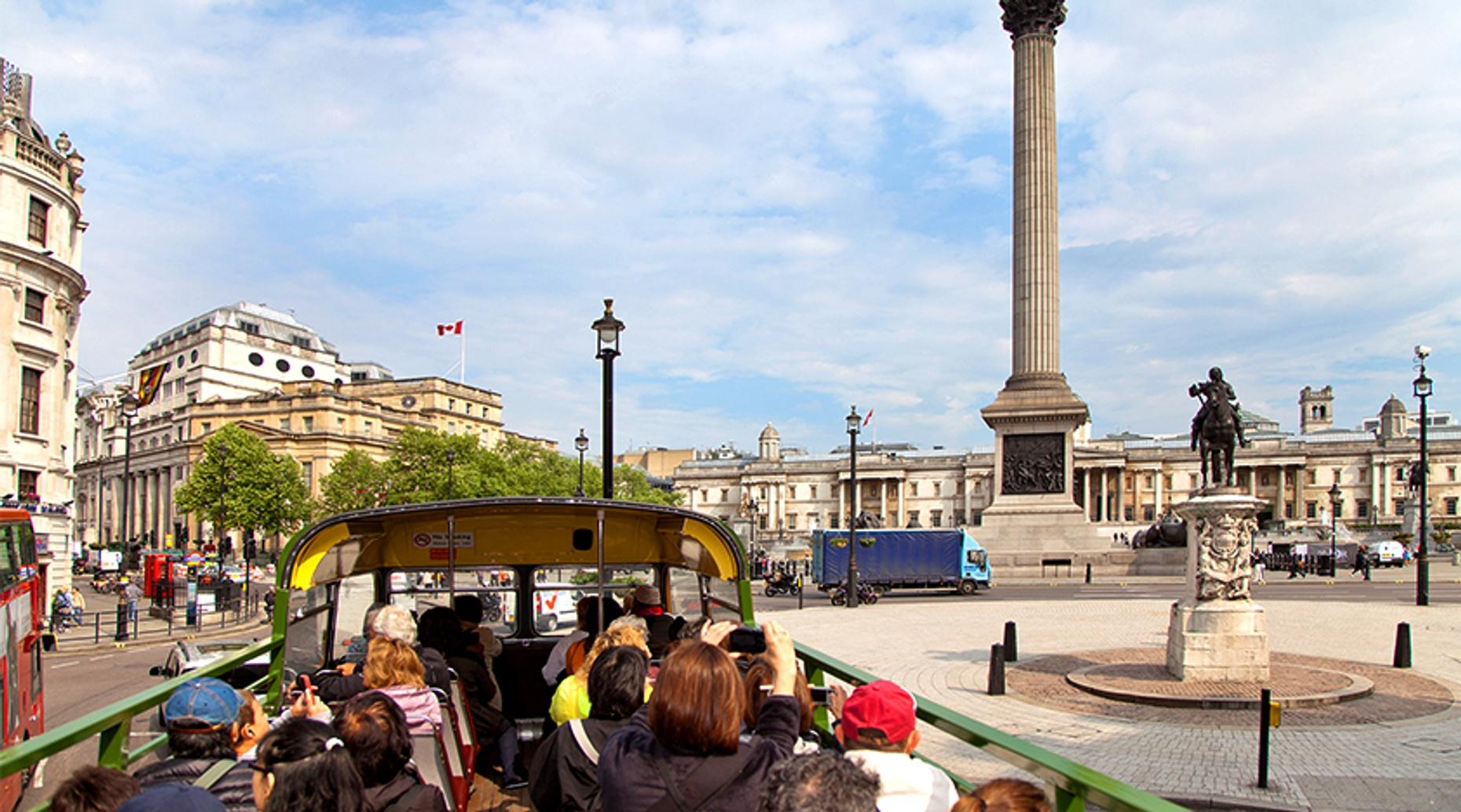 Vintage Bus Tour and River Cruise