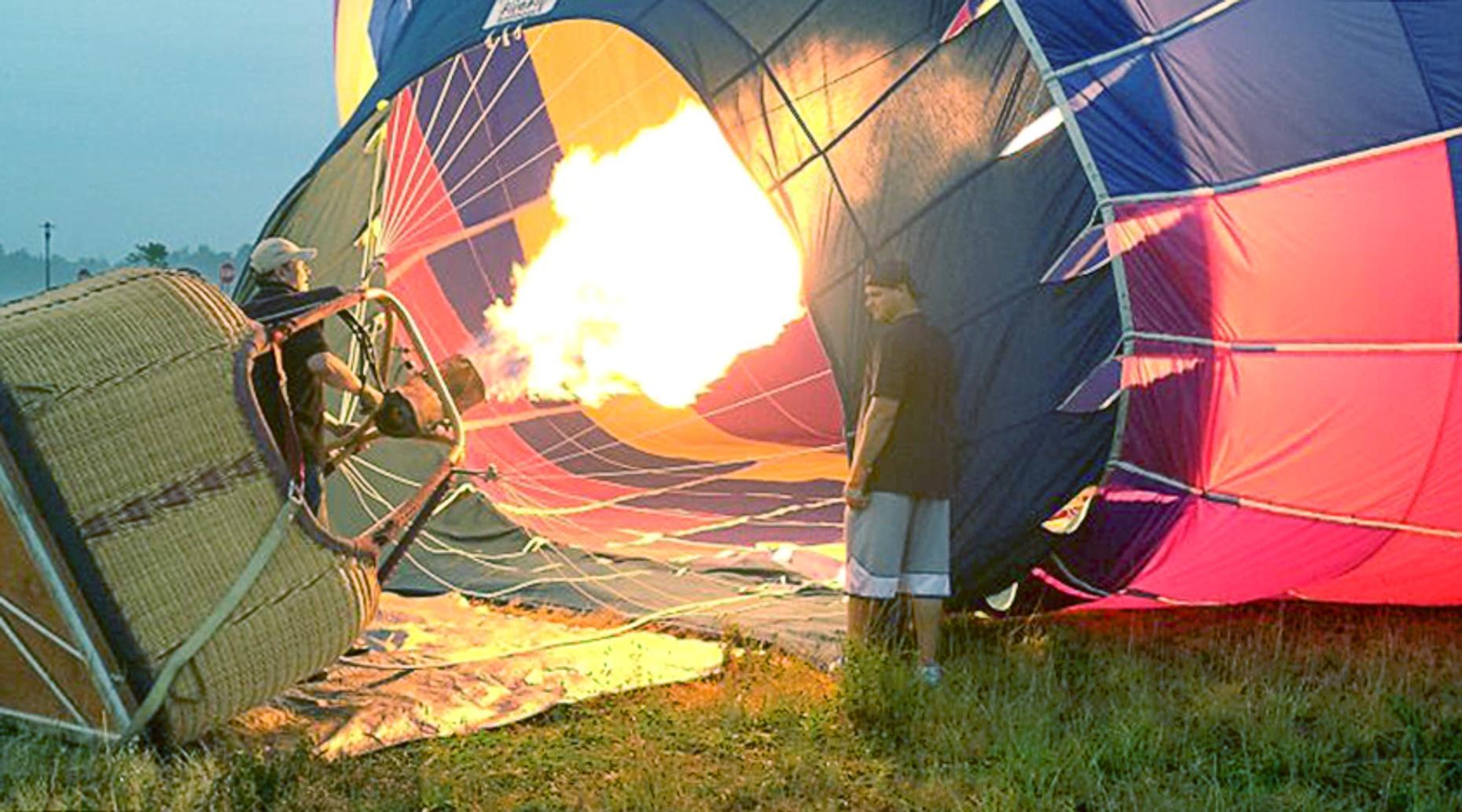 Delmarva Private Pre-Dawn Balloon Flight