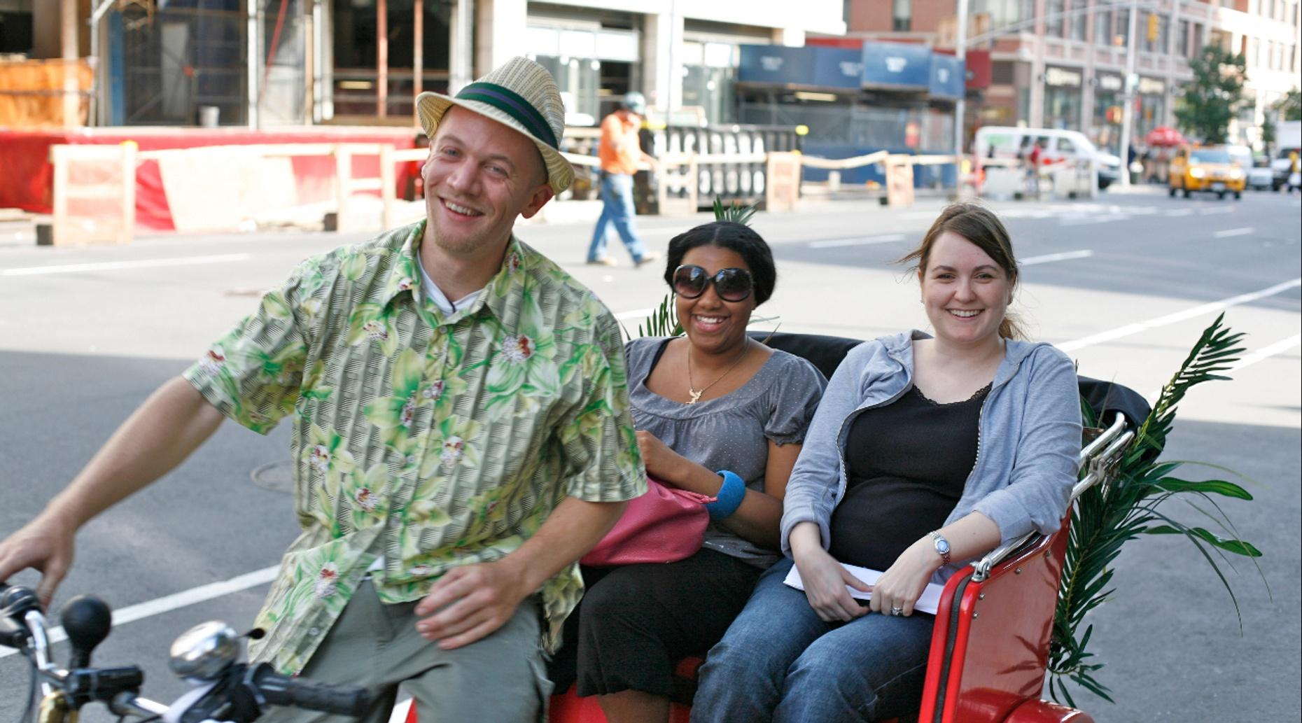 One-Hour Guided Tour of Providence in a Pedicab
