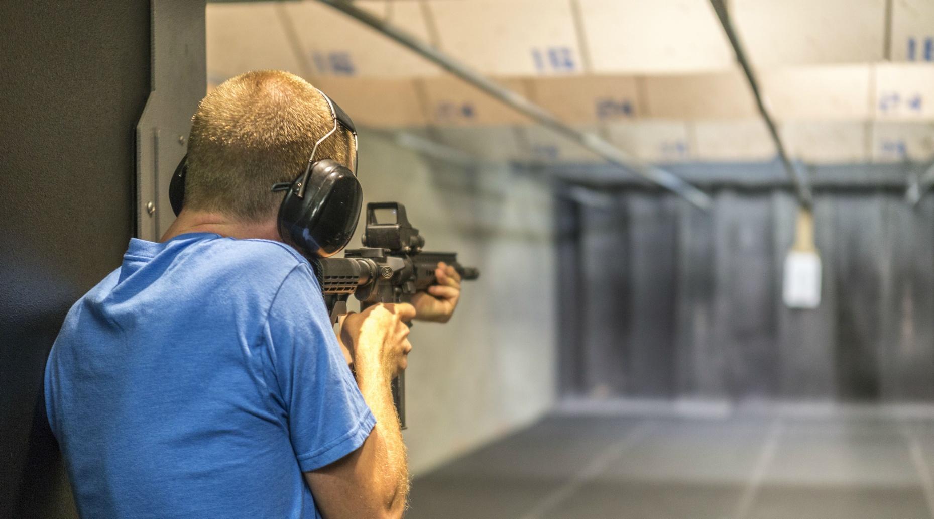Zombie Firing Range Package in Las Vegas