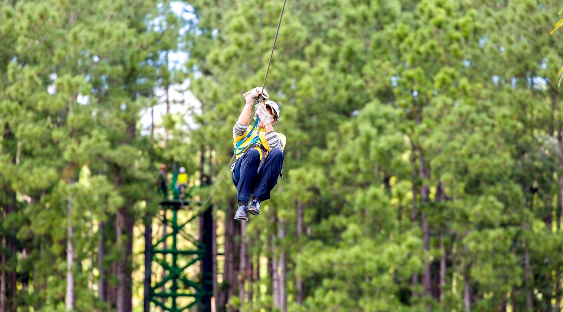Ozarks Xplorer Canopy Tour in Branson
