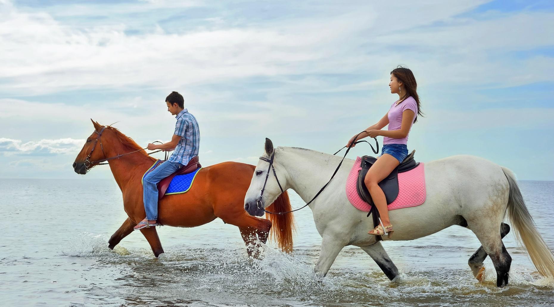 One-Hour Horseback Ride in Ocracoke